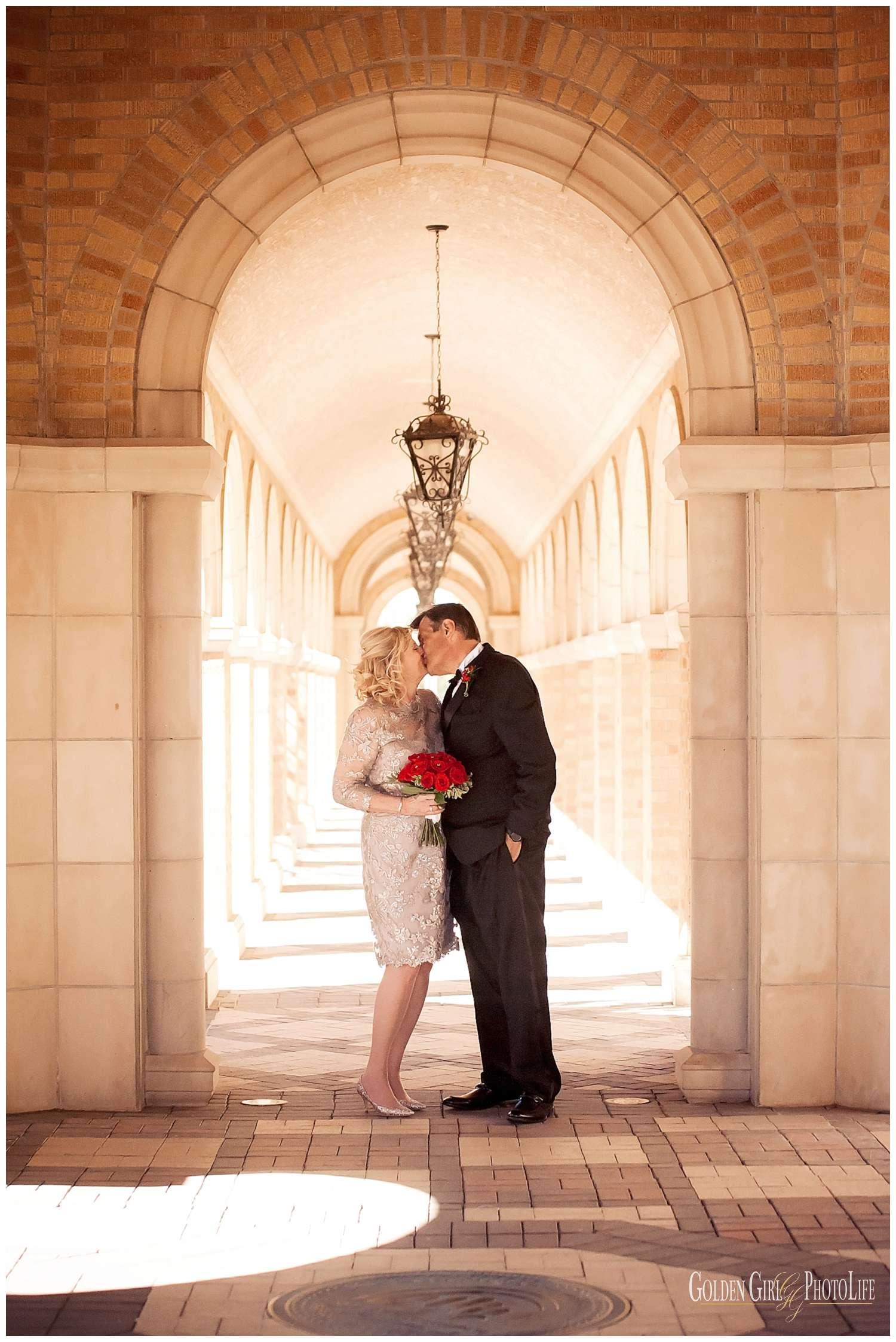 First Baptist Church Amarillo TX destination wedding photographer photo