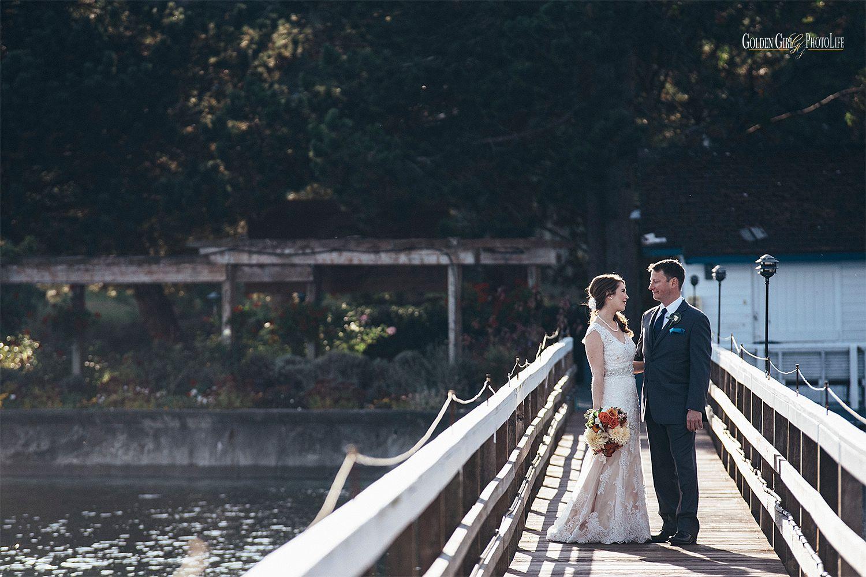 Kiana Lodge waterfront autumn wedding