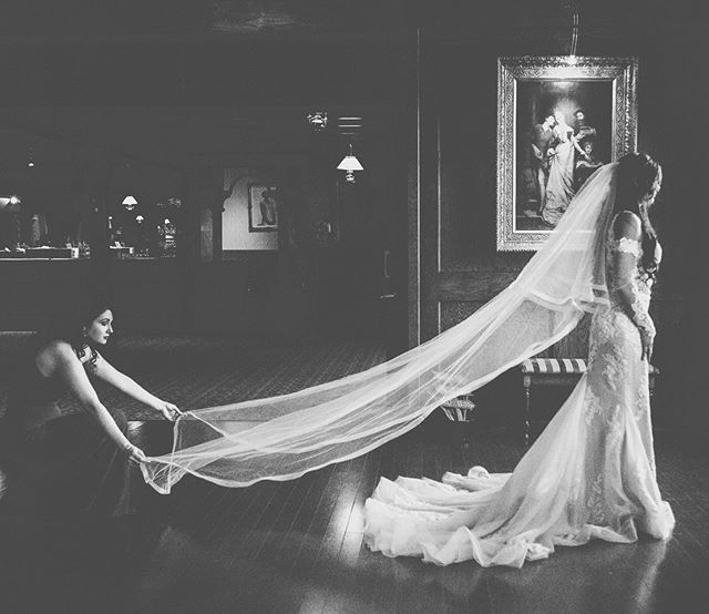 Your bestie always makes sure that veil is on pointe.