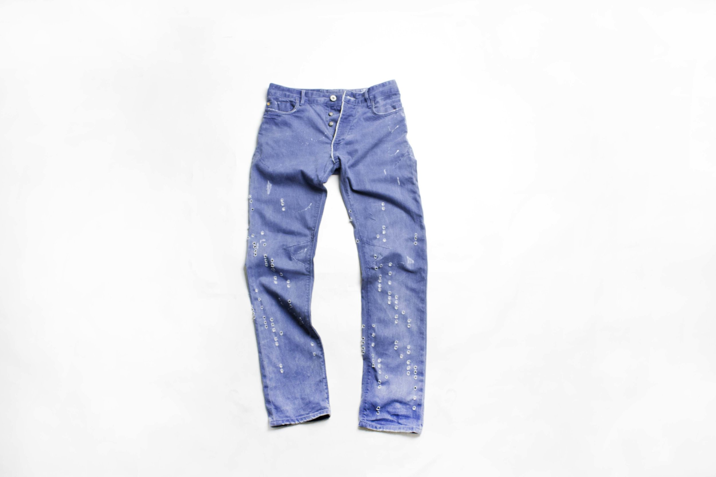 laser cutting jeans