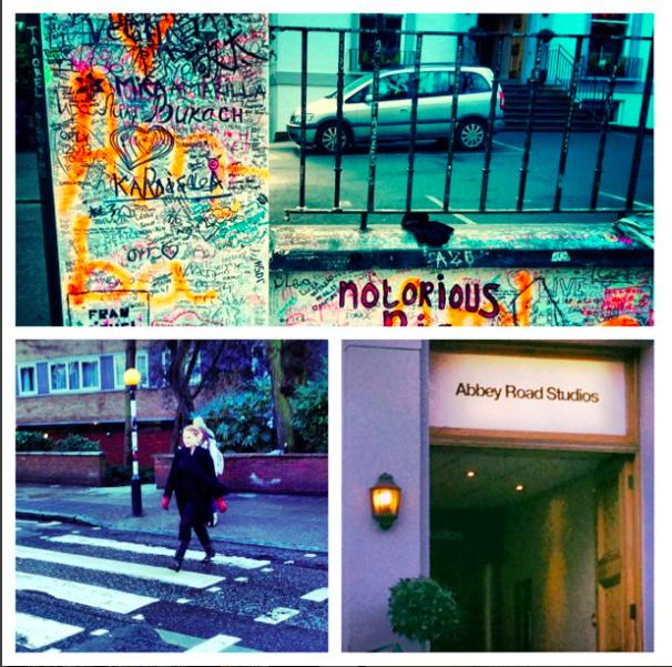 Carly June, Abbey Road Studios, London, England, 2013.