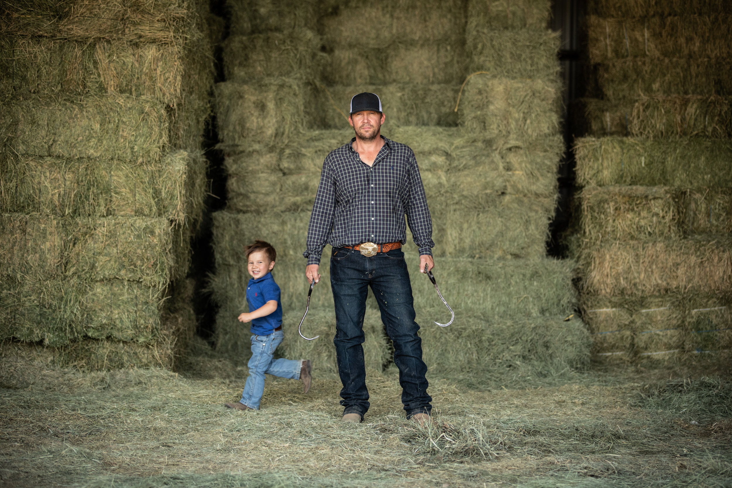 Weatherford, TX 2019 - Father and son