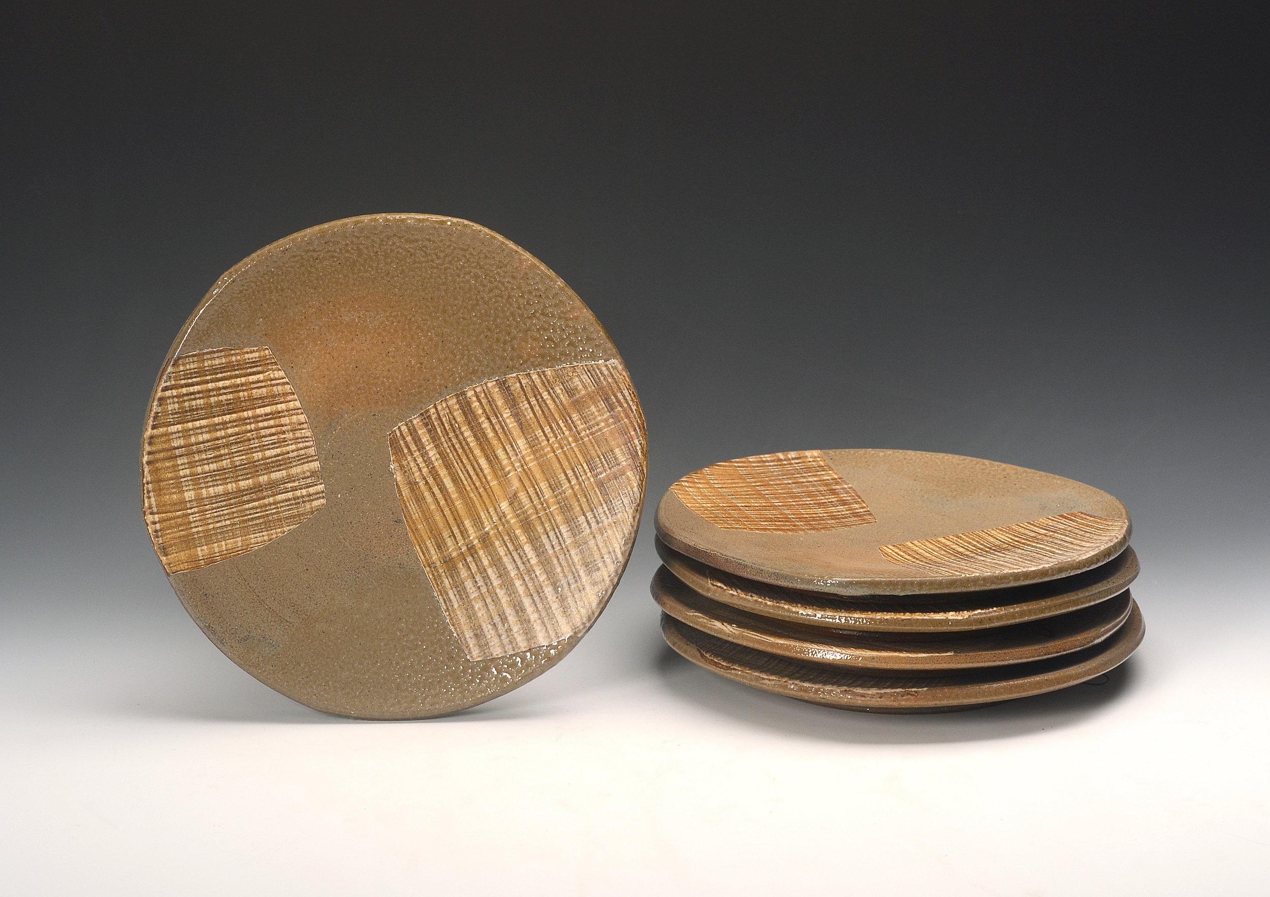 Mark Shapiro Cathy's plates paper squares 2018.jpg
