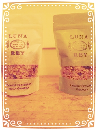 Orange Cranberry with Pecans and Cherry Pistachio -- Two of our yummy flavors!