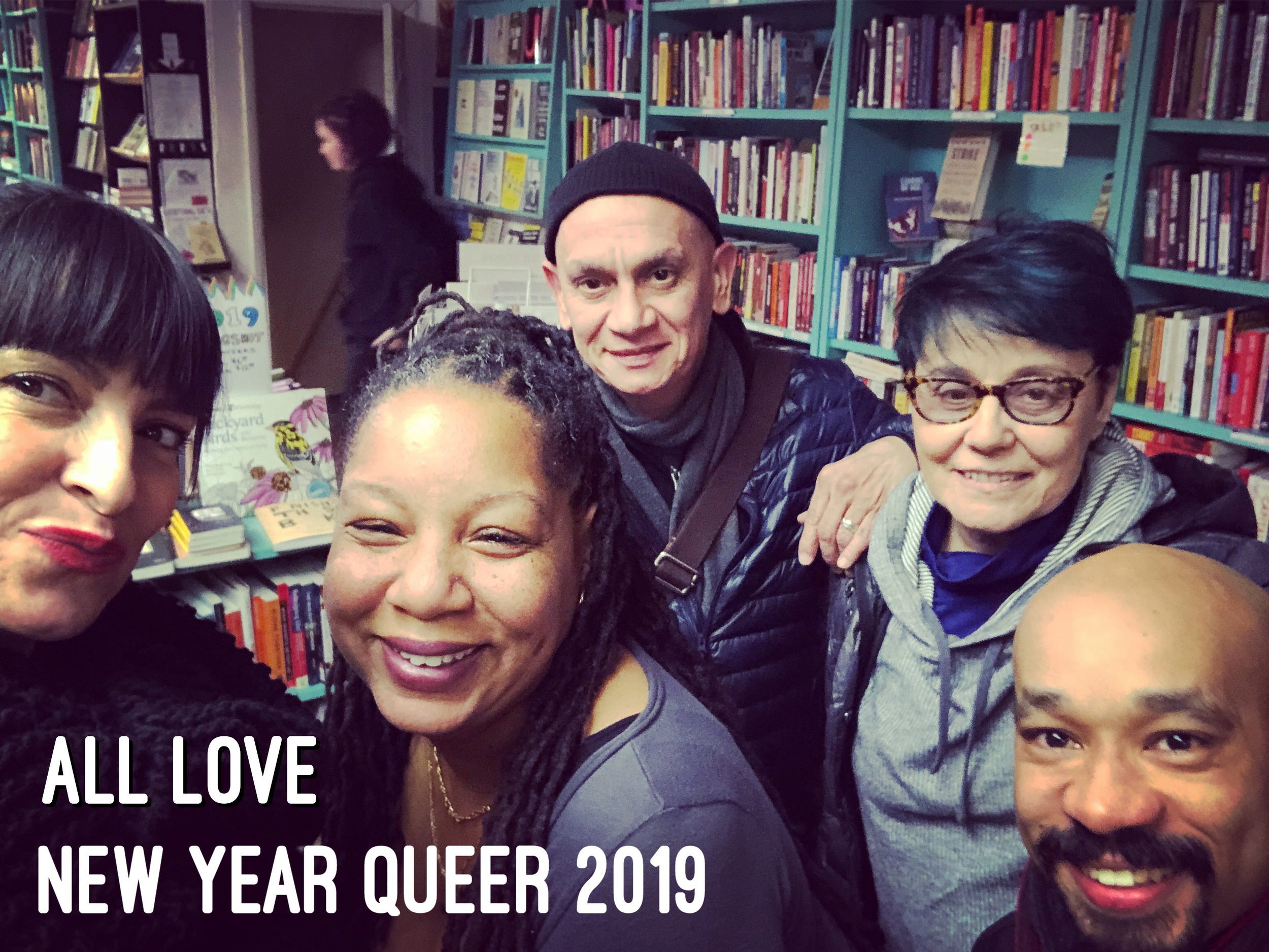 #NYQ19 - Thank you for sharing space with us during our first New Year Queer gathering!