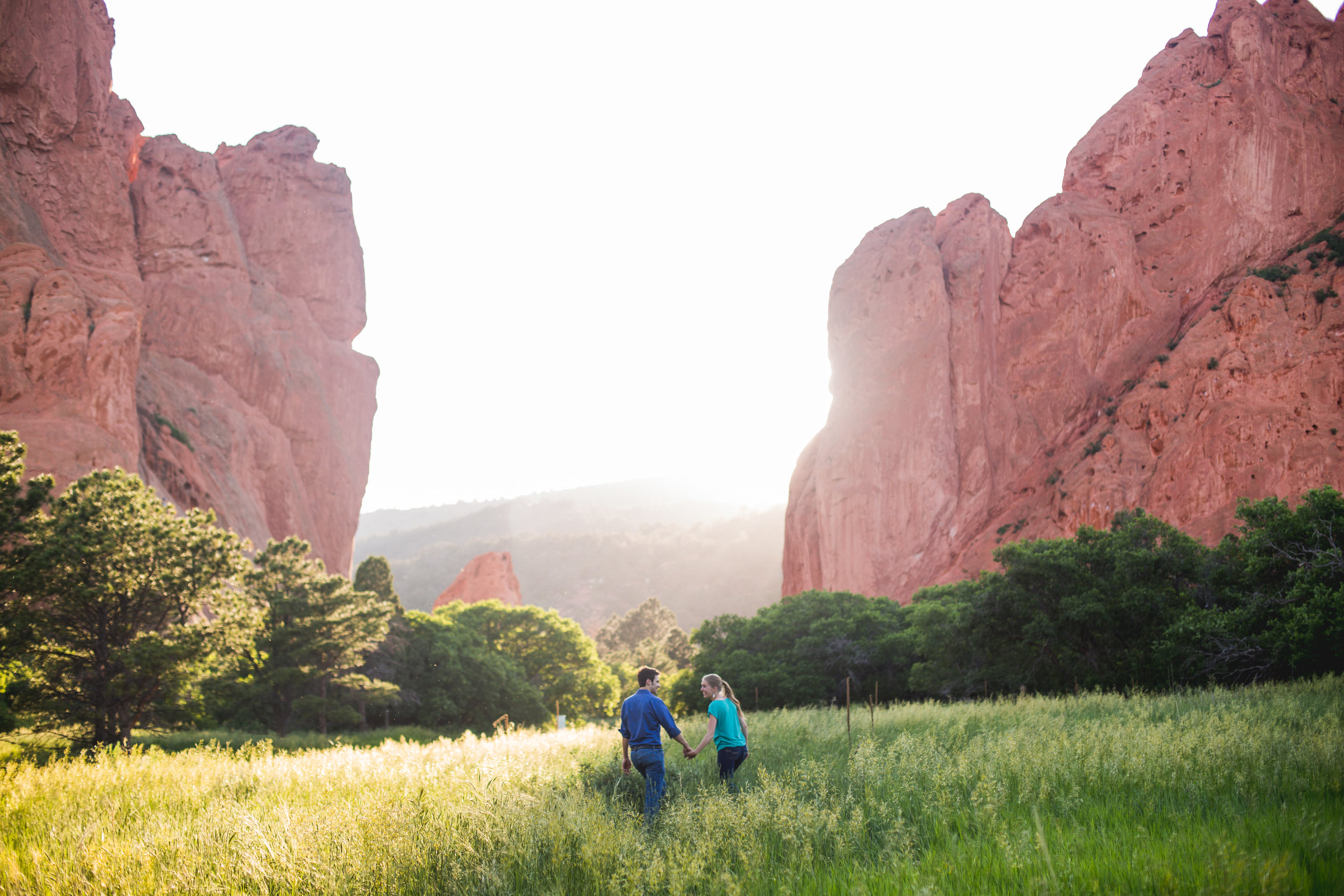 EMILY + JOSH | GARDEN OF THE GODS ENGAGEMENT