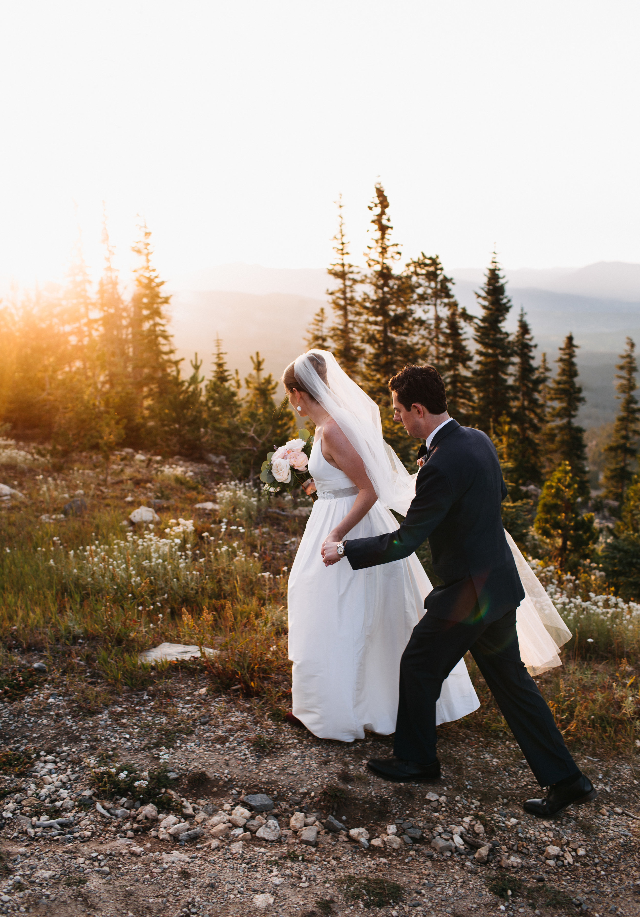 NADEGE + JOE | MOUNTAIN WEDDING AT THE LODGE AT SUNSPOT