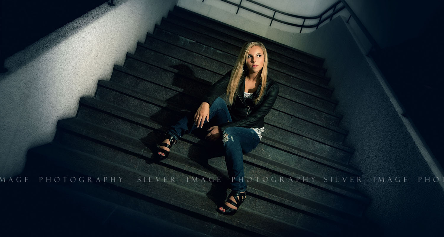 Silver Image Photography - Senior pictures in downtown Houston, TX