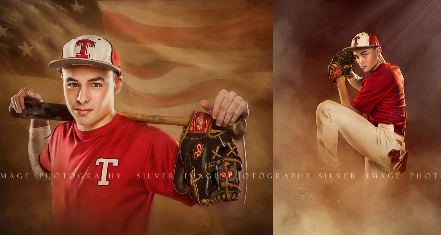 Senior Baseball Pictures - Silver Image Photography located in Spring, TX
