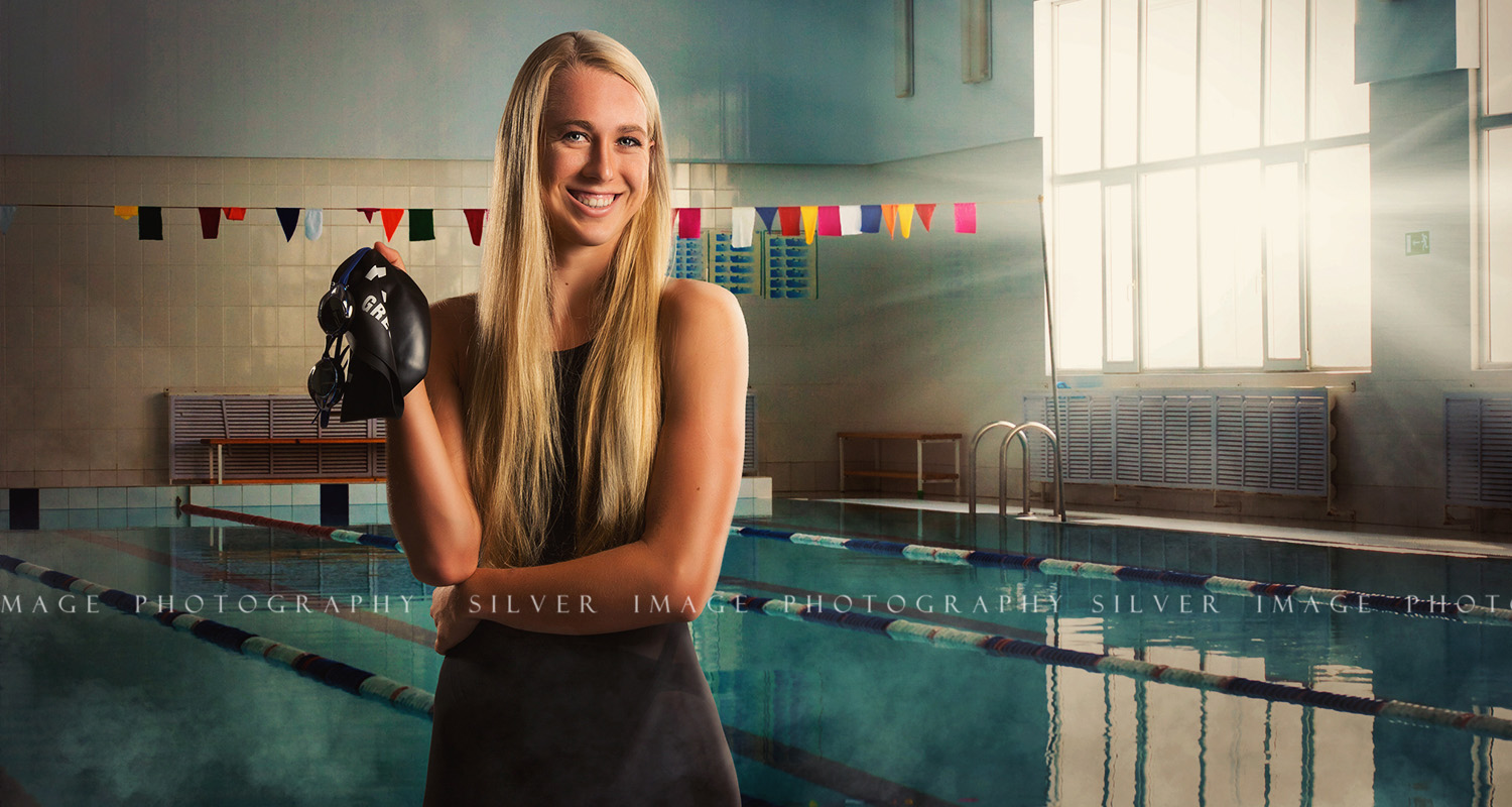 Swimmer Photos - Senior sports pictures by Silver Image Photography located in Spring, TX