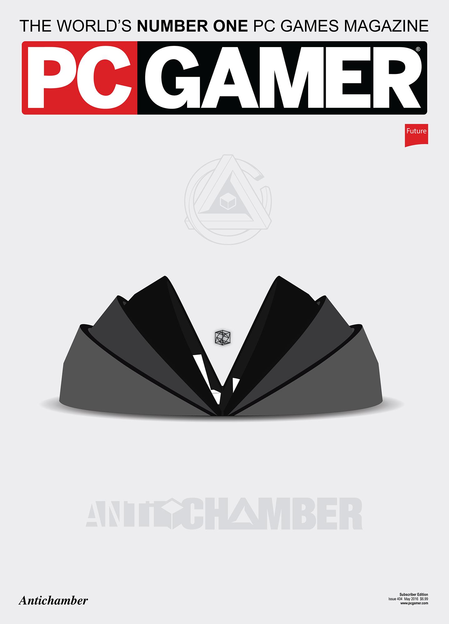 Antichamber Magazine Cover
