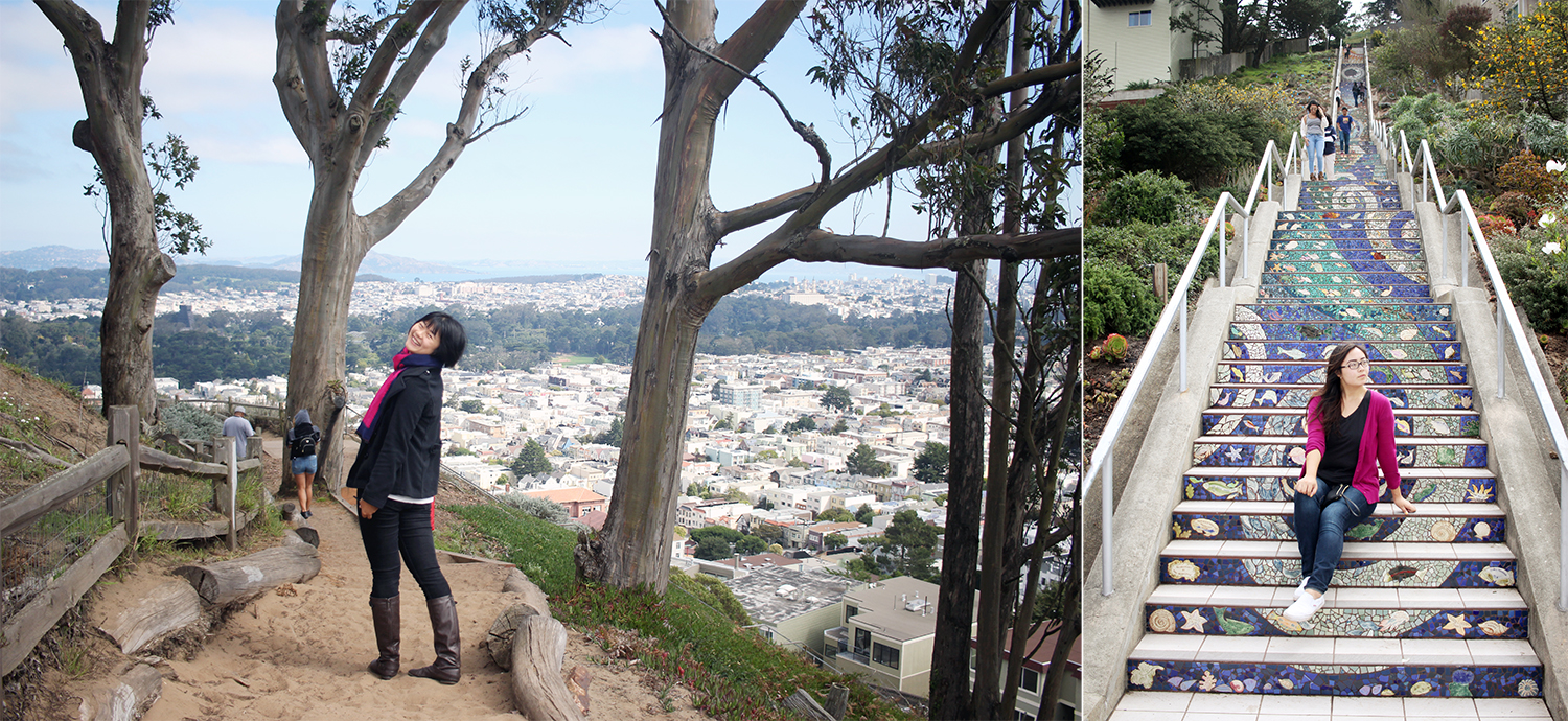 Moraga Steps and Turtle Hill (Grand View Park)