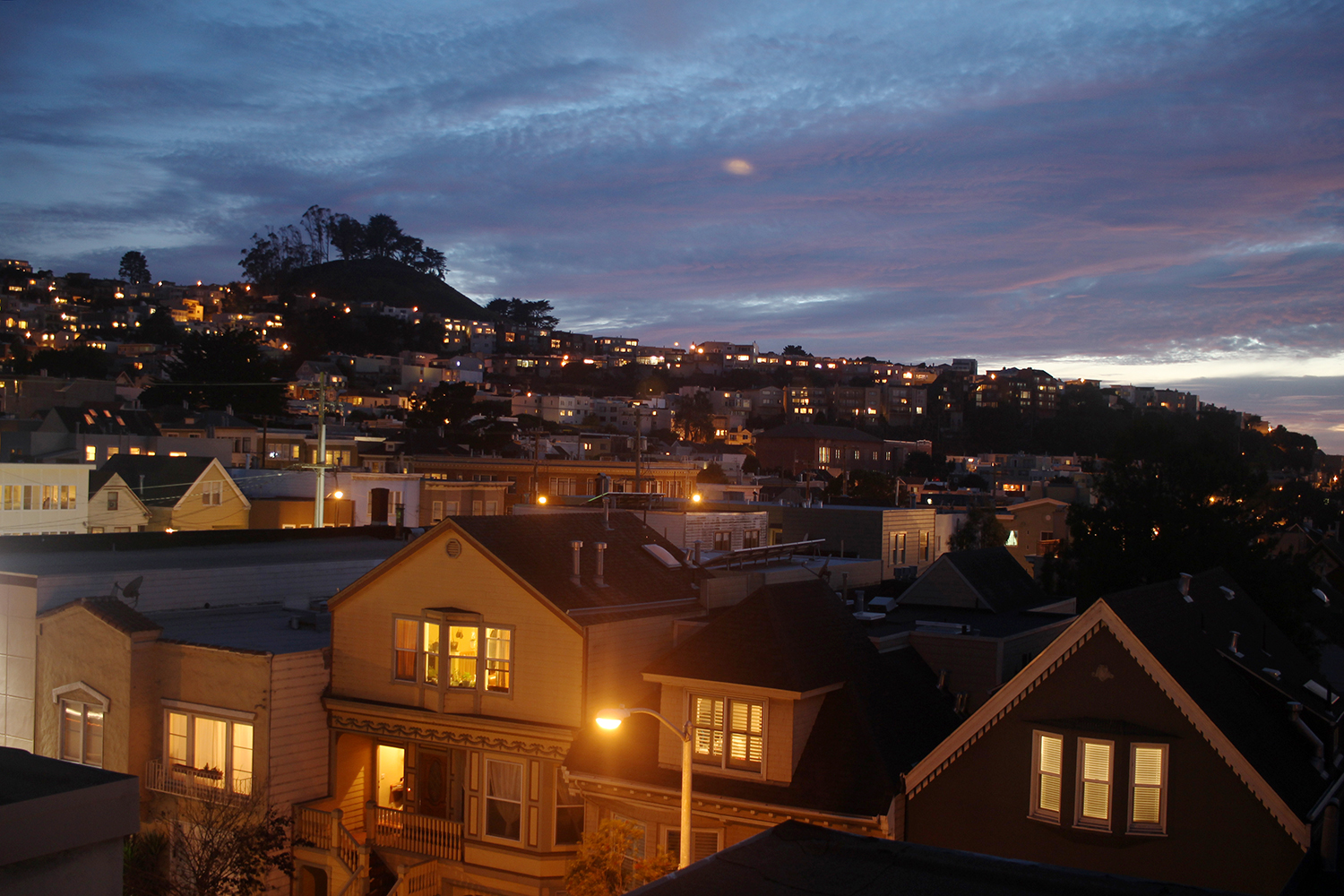 View from my roof in Inner Sunset