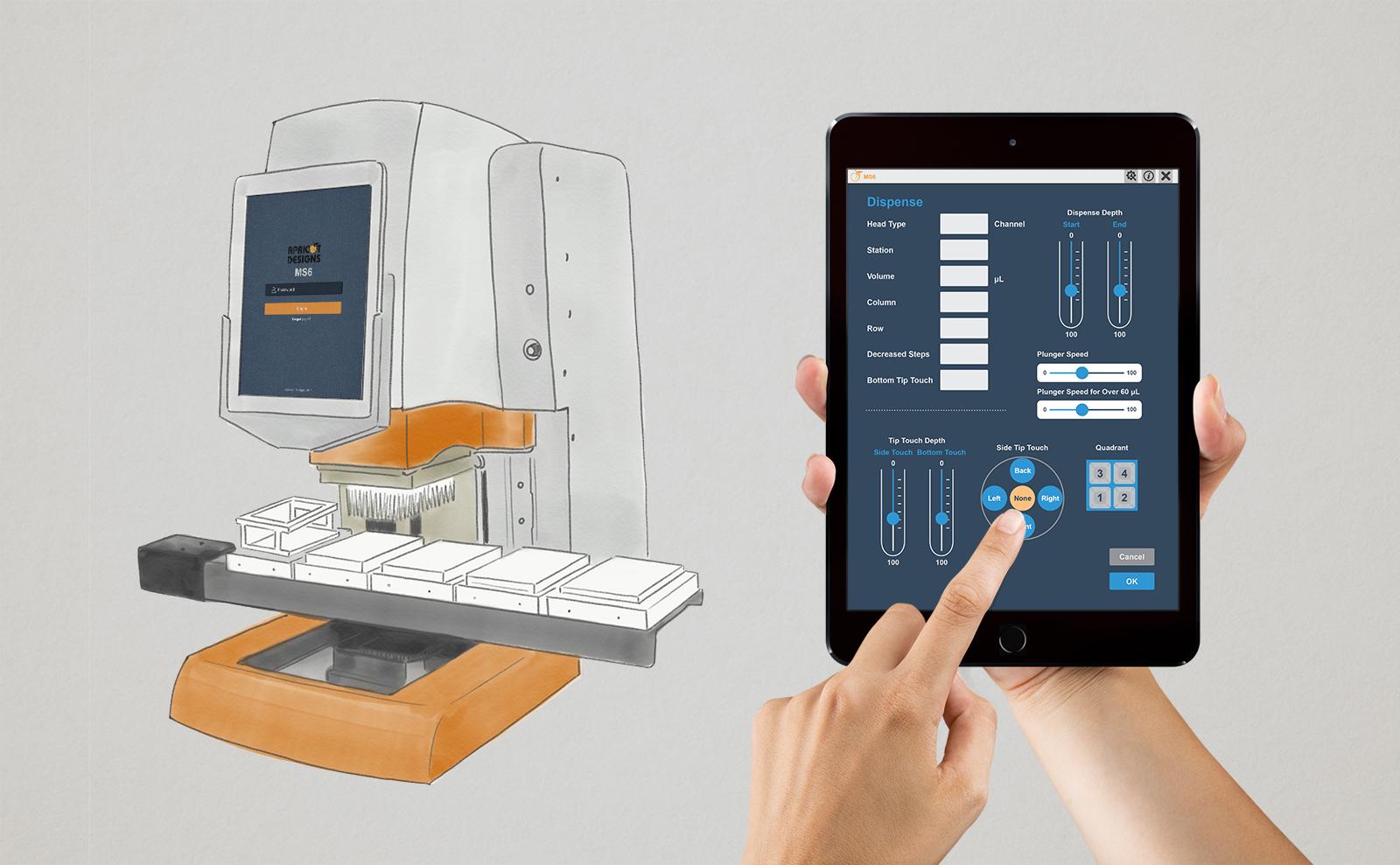 UI Design: Apricot Designs iOS App