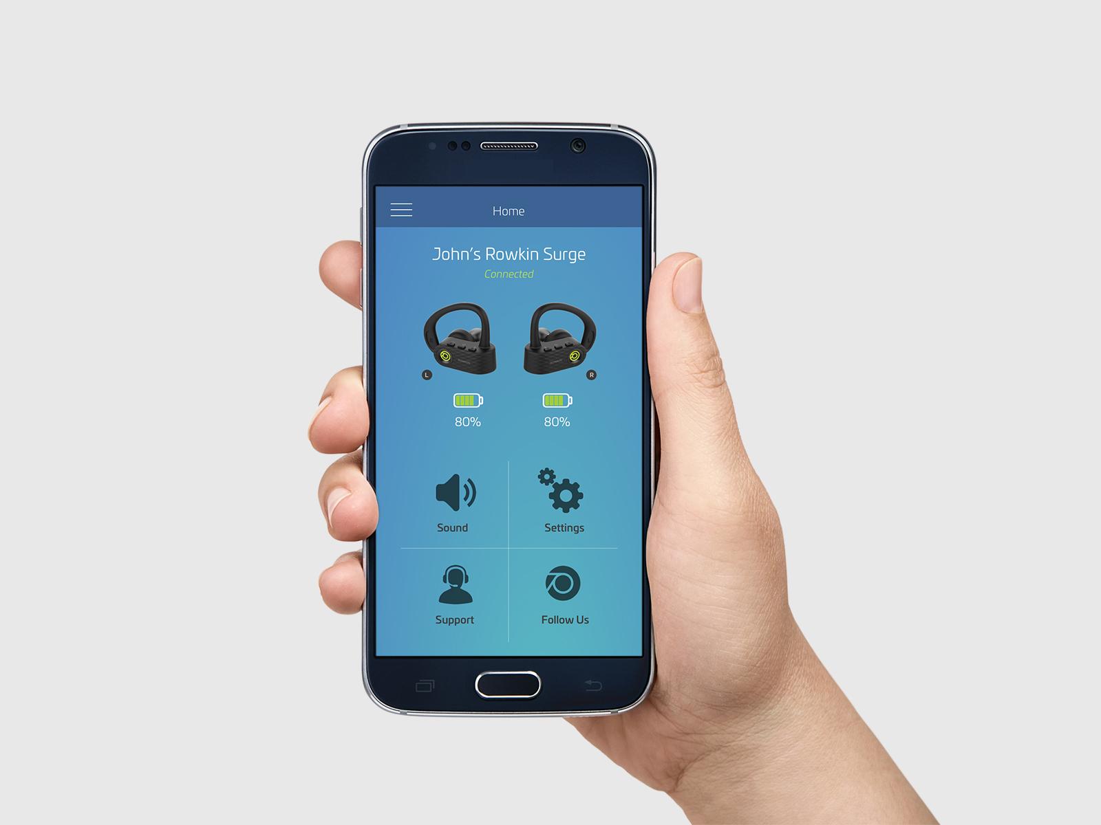 Product Design: Rowkin Mobile App