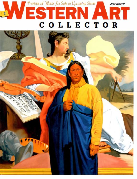 Western Art Collector (Oct 2007) - Cover