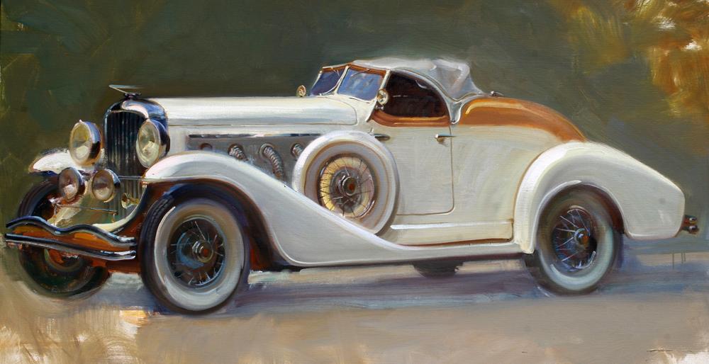 """1934 Duesenberg 32"""" x 40"""" A.C."""