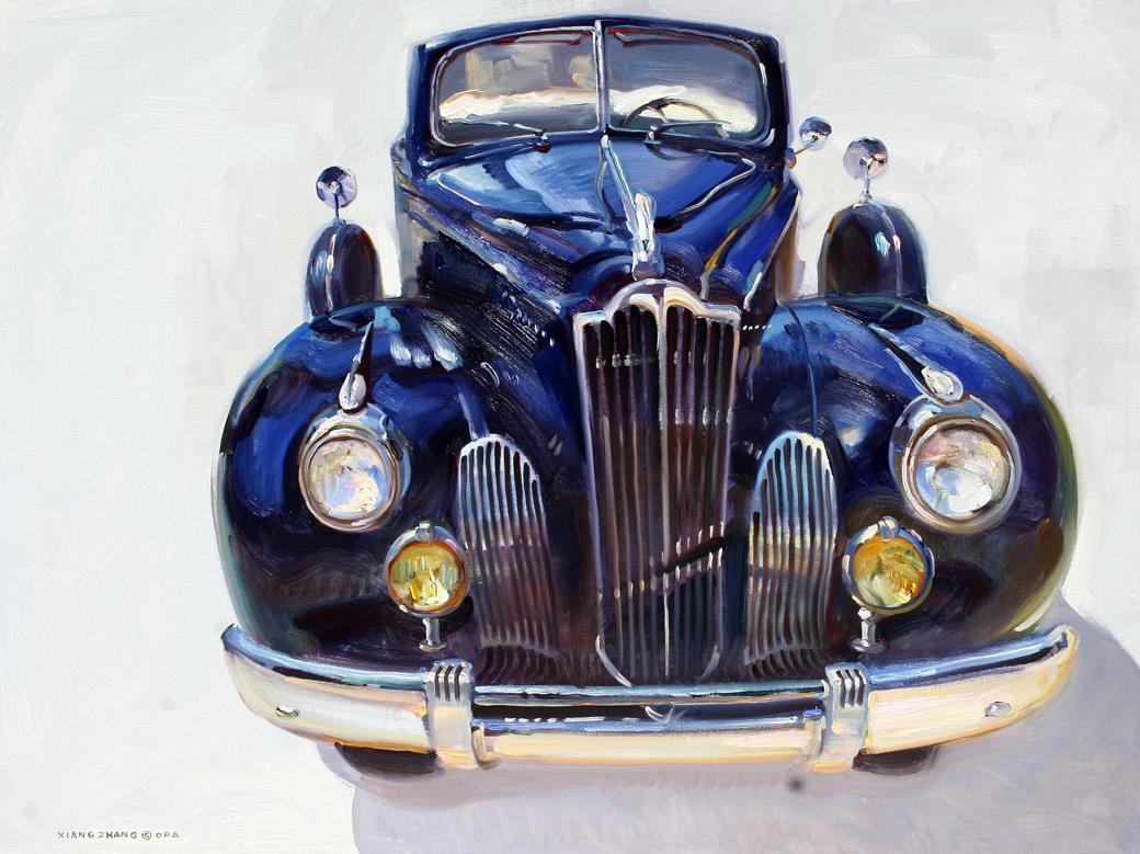 """1940 Packard 32"""" x 40"""" A.C."""