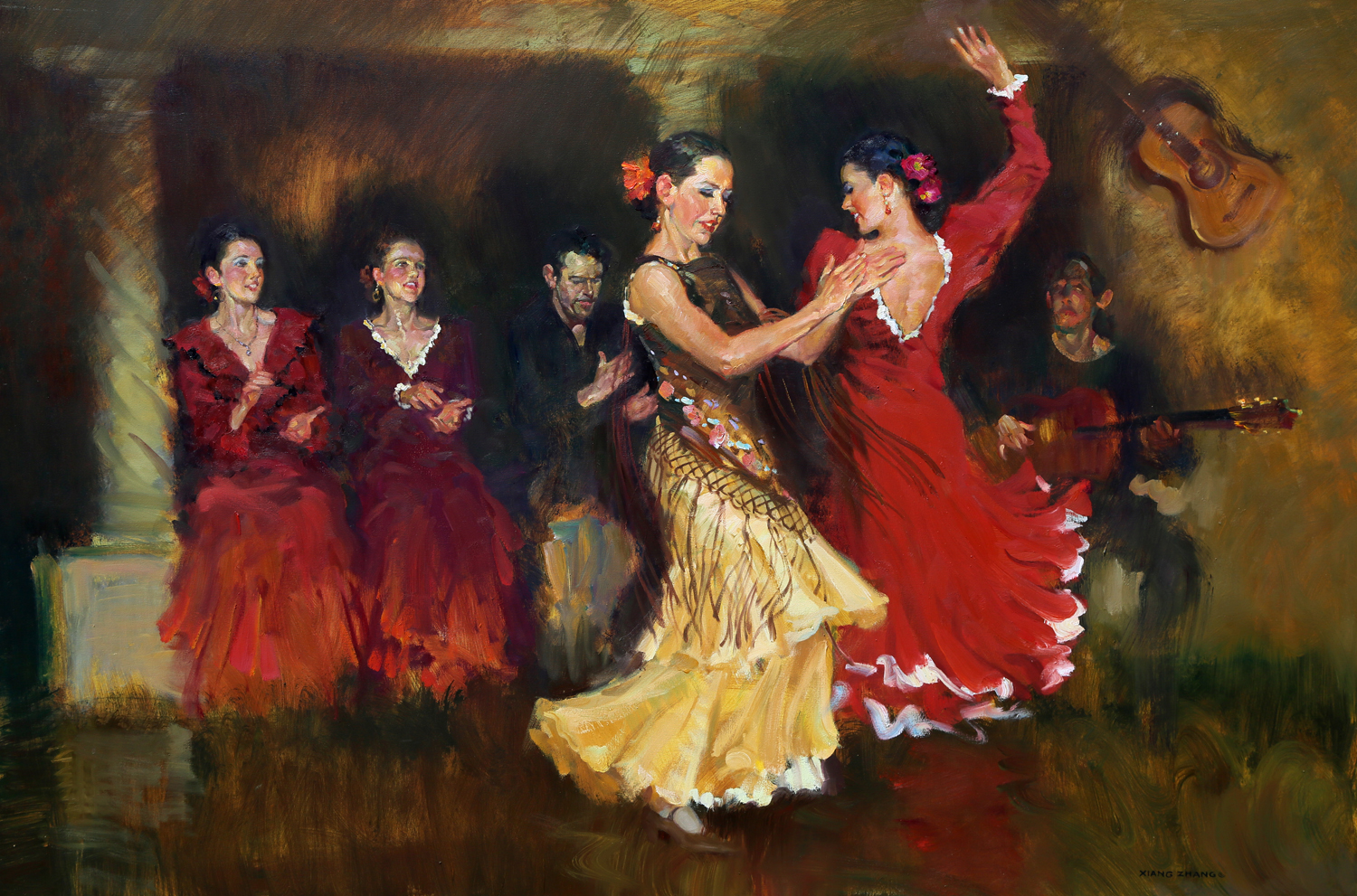 "Sound of Flamenco 40"" x 60"" A.C."
