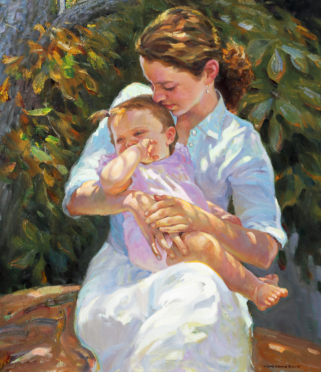 """A Mother's Love (43""""x28"""")"""