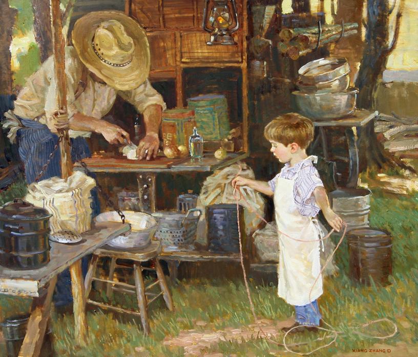 "Kitchen Charmer (31""x36"")"