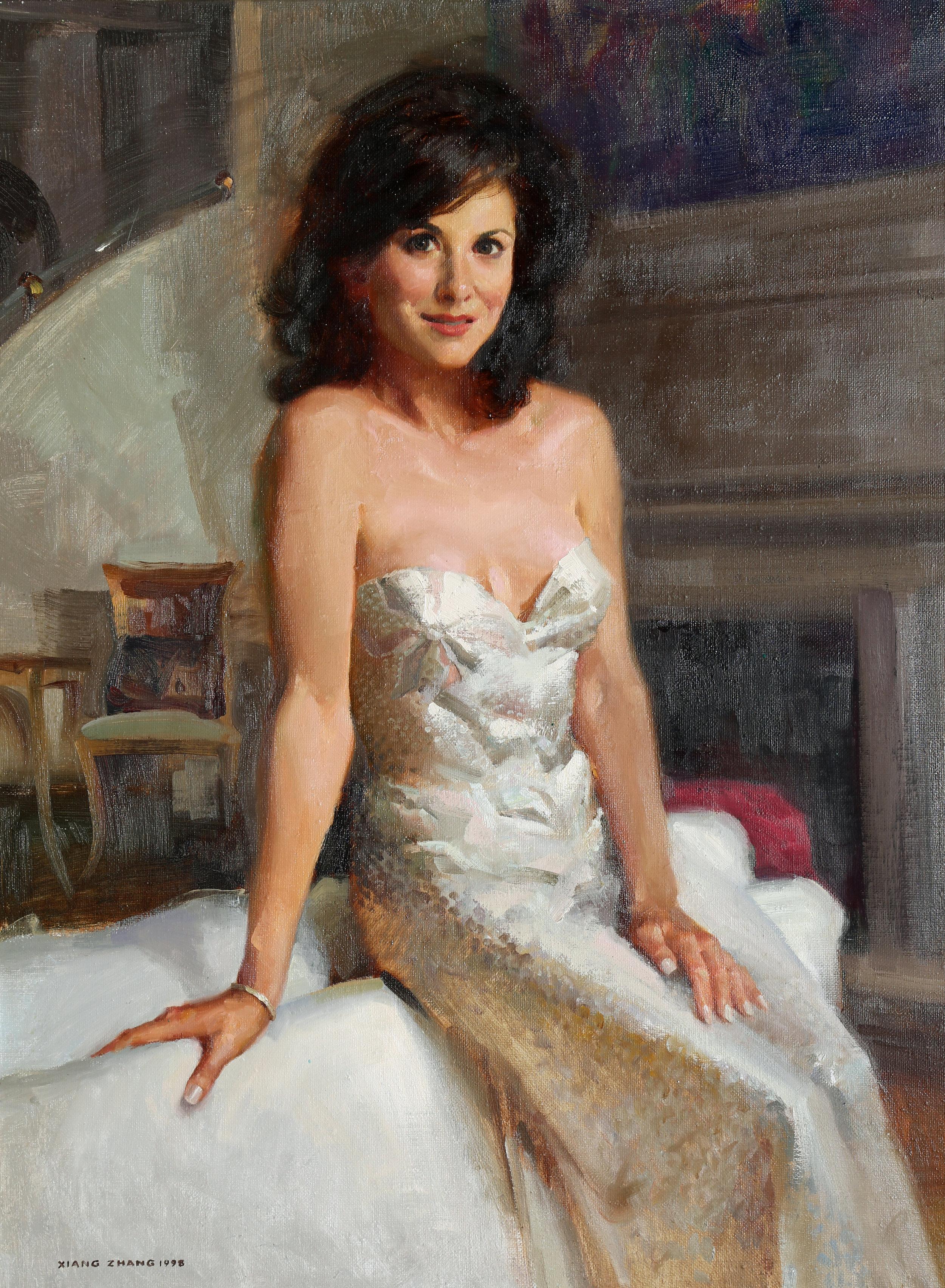 """1985 Miss Texas oil 40"""" x 30"""""""
