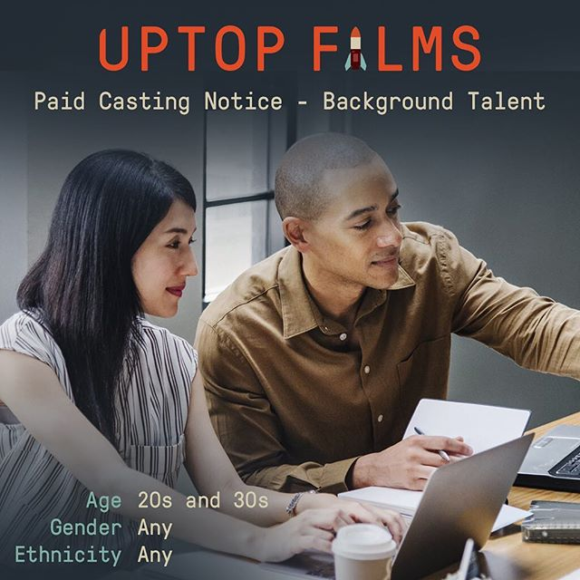 Minneapolis casting for Background Talent in upcoming Short Film. Half-Day, Friday, July 27th from 2-6pm. Rate: $50 plus credit in Film. Submit headshot and resume to casting@uptopfilms.com