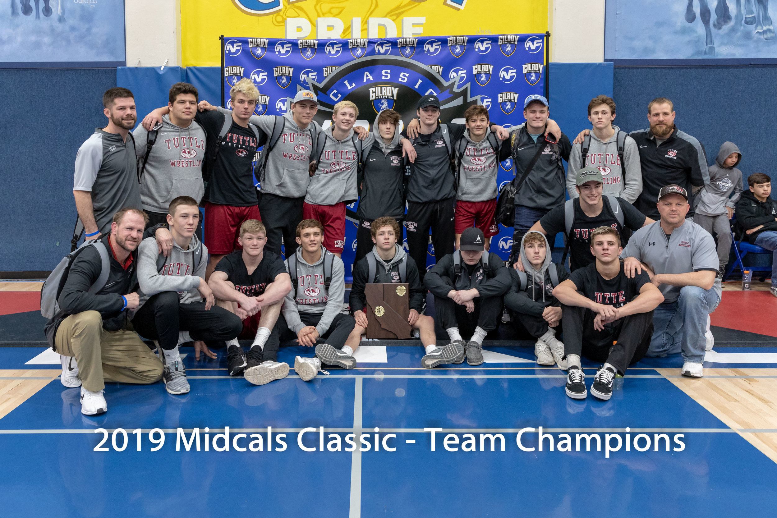 Tuttle Oklahoma is the 2019 MidCals Team Champions