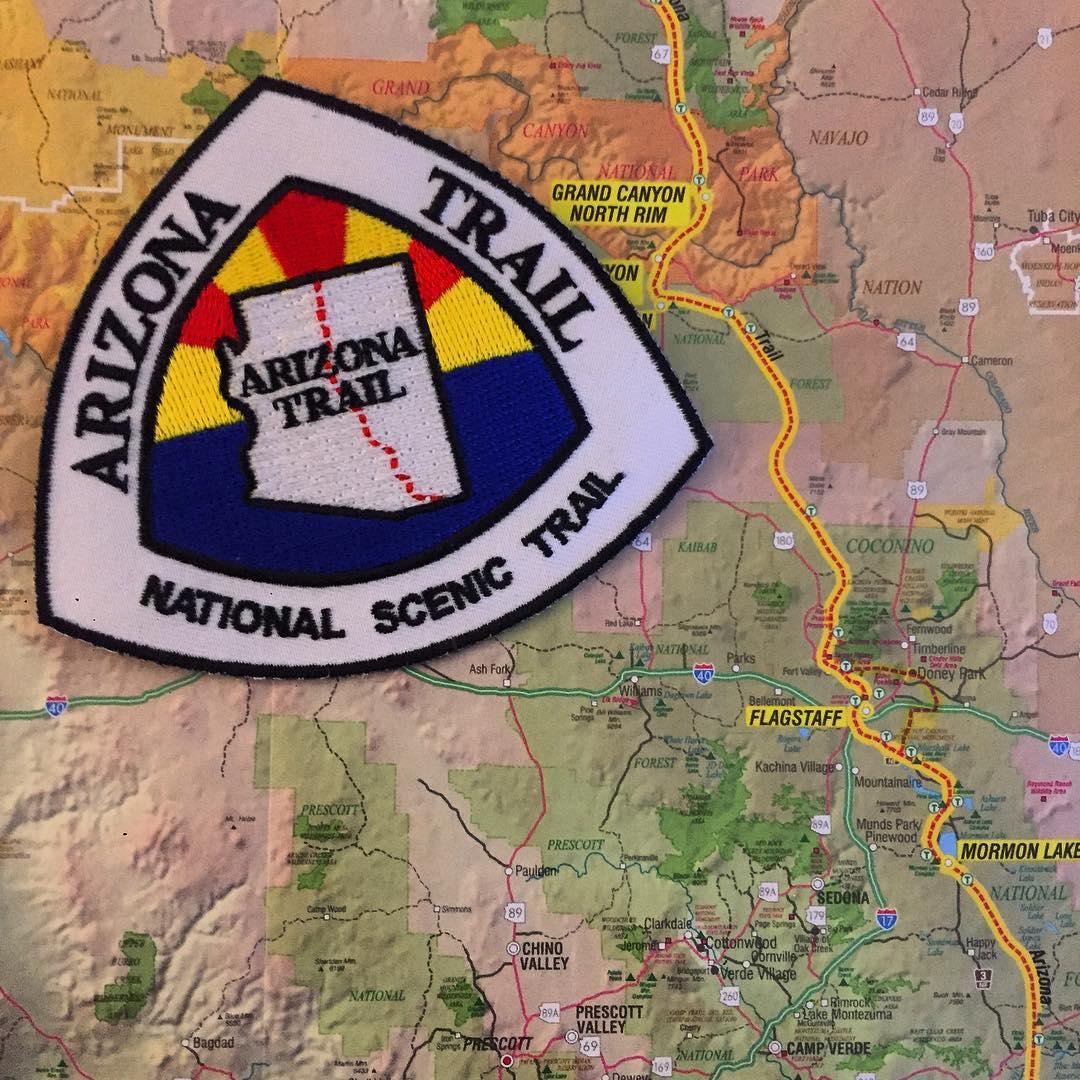 The Dusty Camel Hikes the Arizona Trail - 2017
