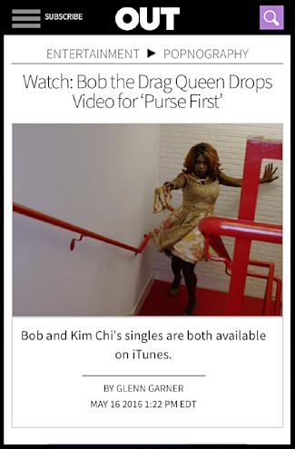 Out Magazine | Bob