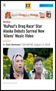 Entertainment Tonight | Alaska