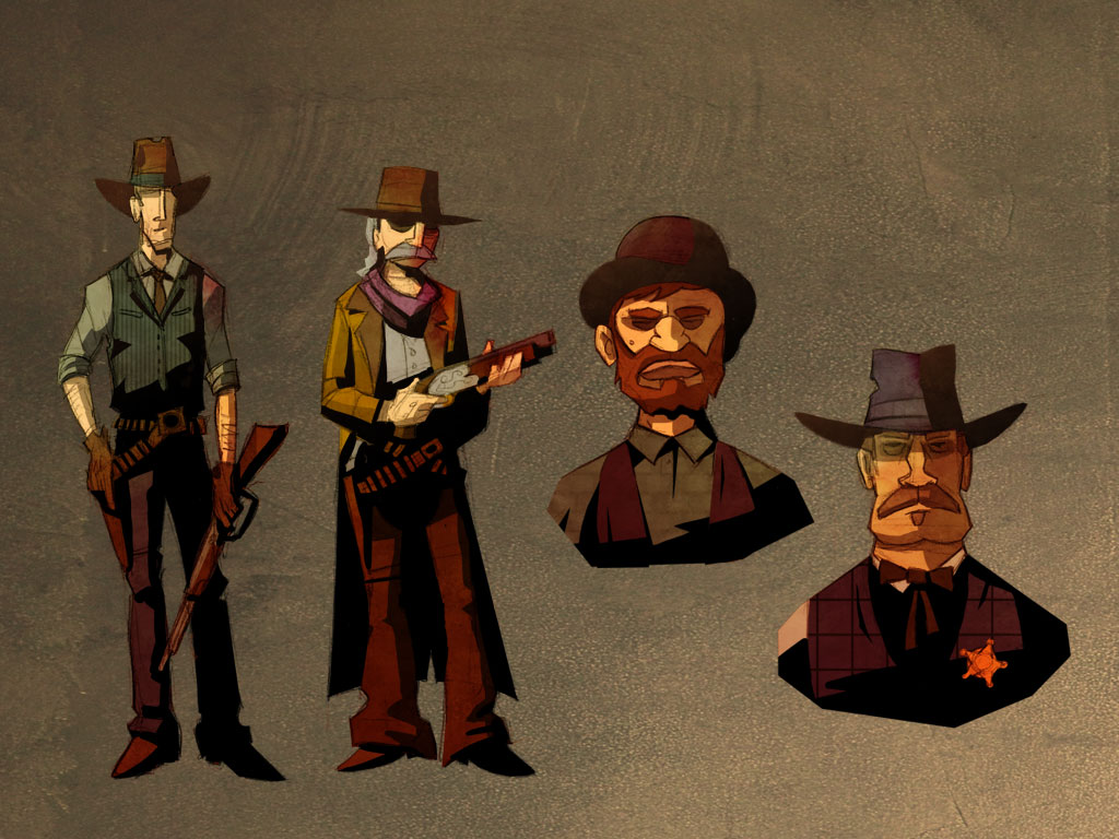 Gunslingers (concept art)