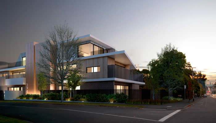 CAMBERWELL XI :: CAMBERWELL  Camberwell XI will offer boutique living in the sought after blue-chip Melbourne suburb of Camberwell, comprising of 11 architecturally designed apartments across two levels.  The vision for Camberwell XI is to deliver luxuriously light-filled apartments that reflect the exclusive appeal of the surrounding area, while cultivating a premium lifestyle offering of individual floor plans.  Camberwell XI is a collaborative effort between Hub Property Group, G3 Projects and Elevli Plus.