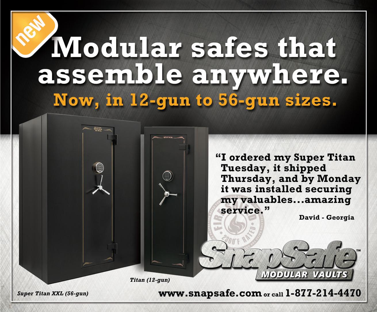 SnapSafe Modular Vaults