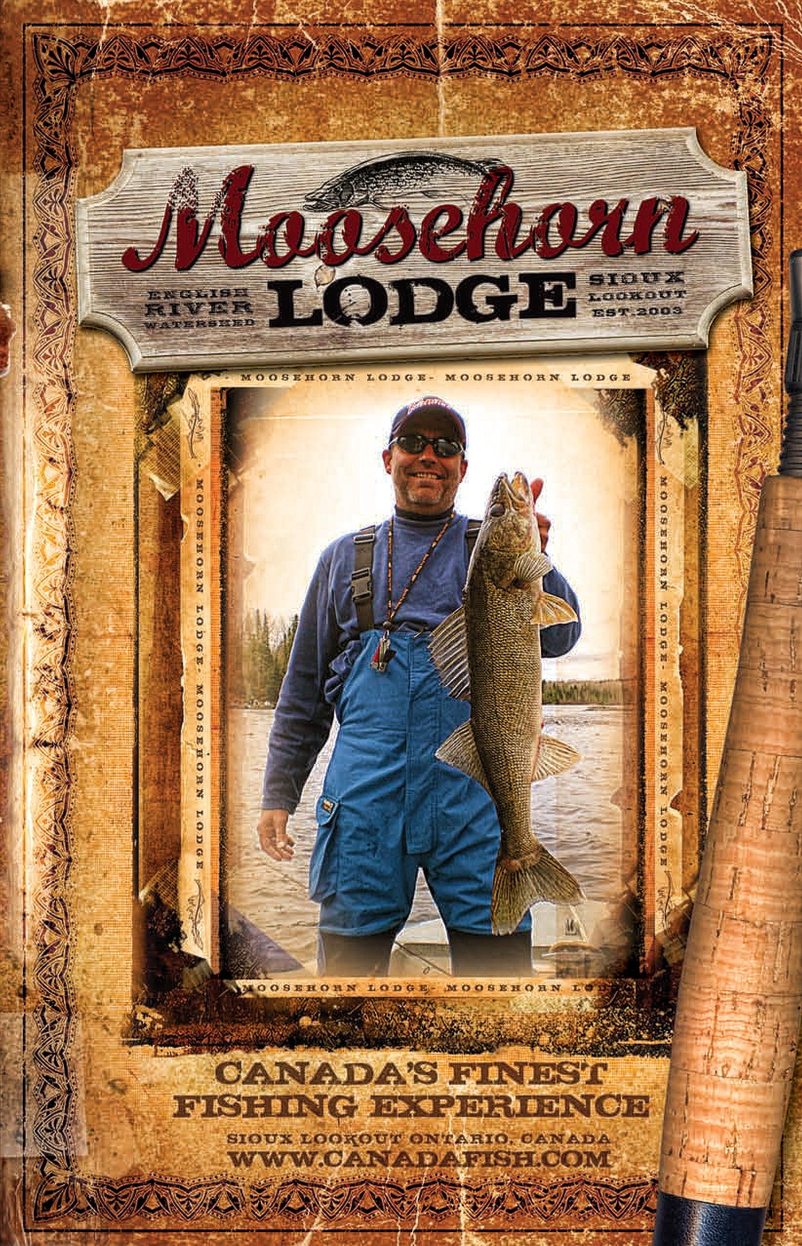 Moosehorn Fishing Lodge in Canada