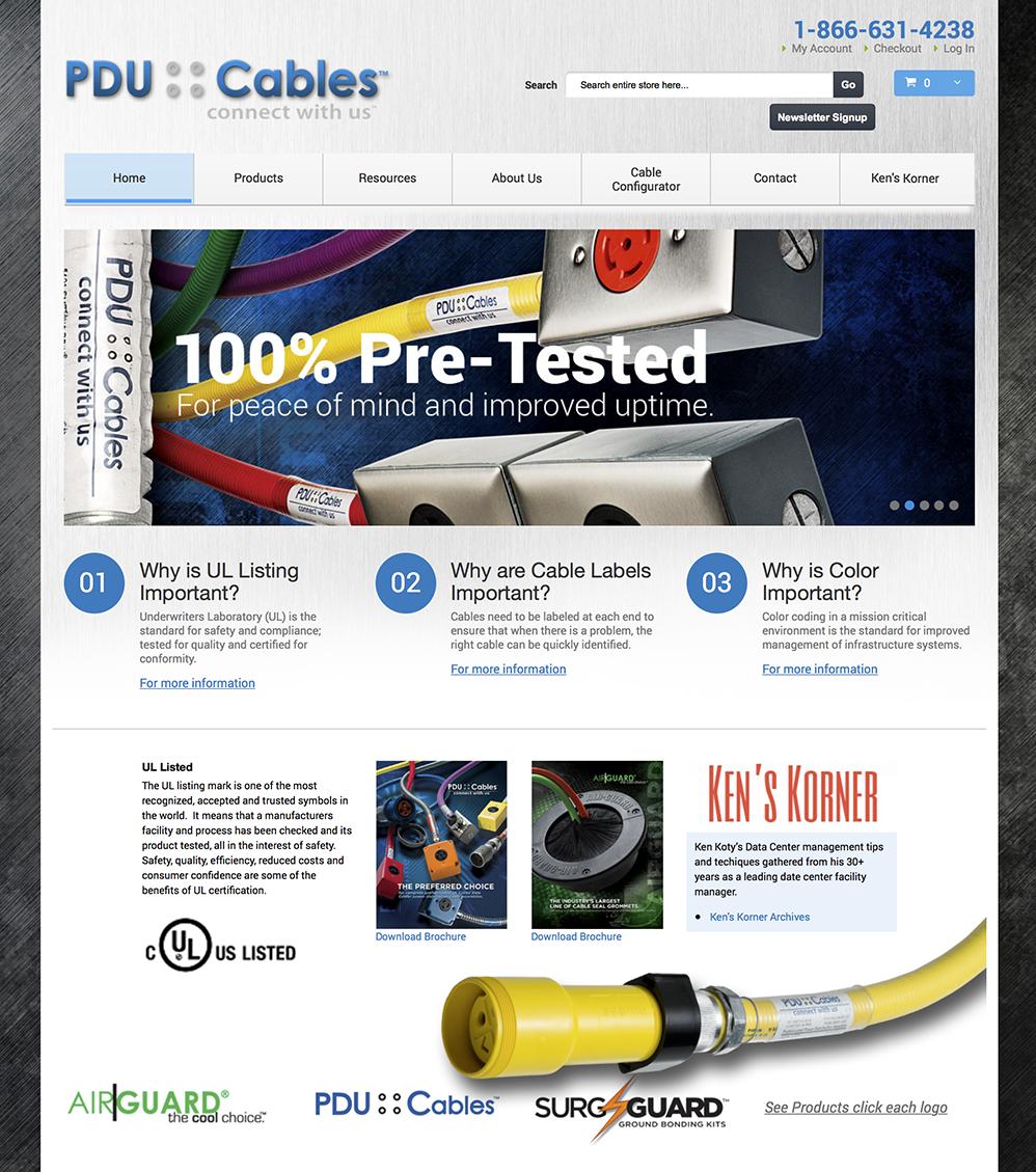 PDU Cables Website