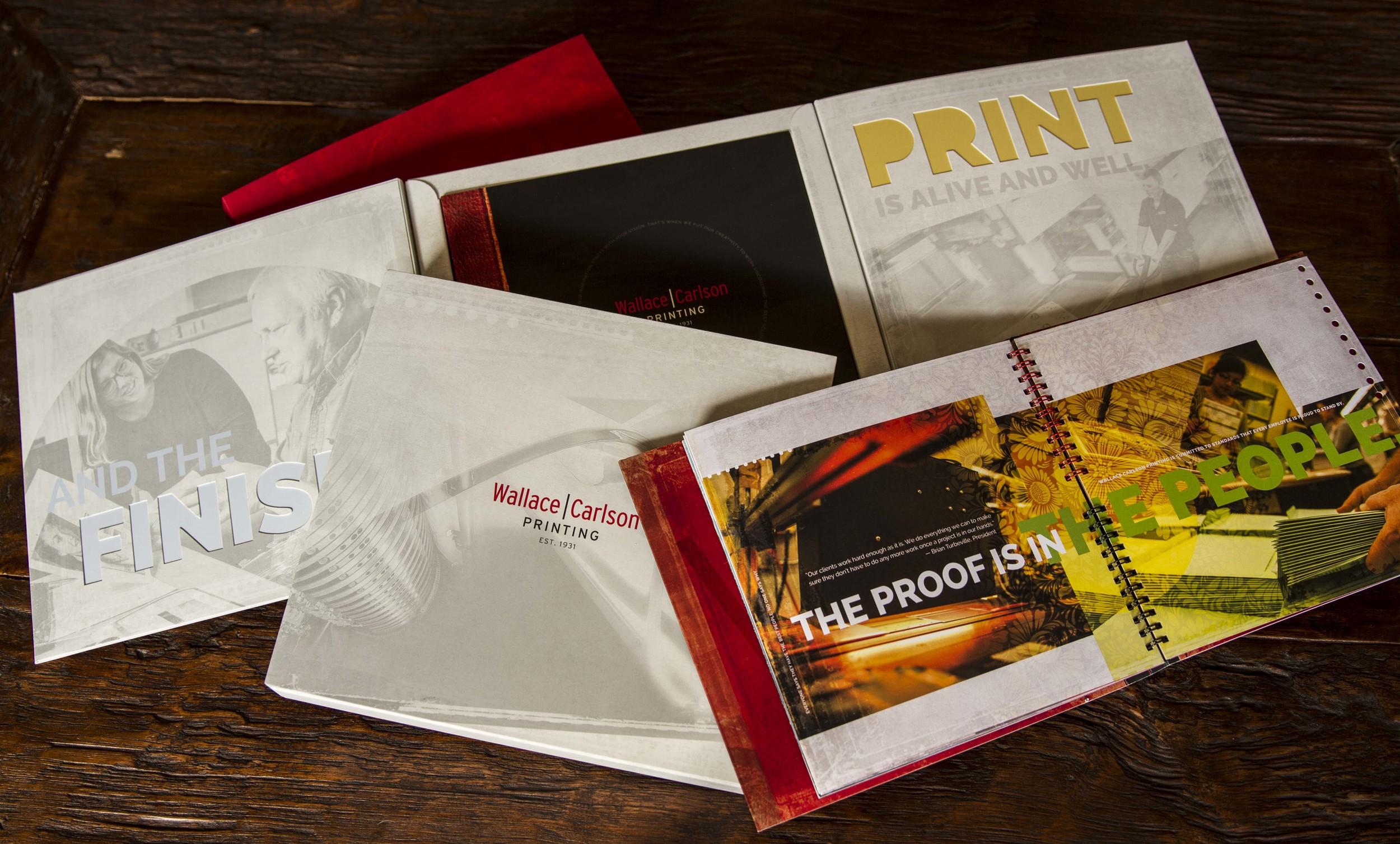 Wallace Carlson Printing Brochure