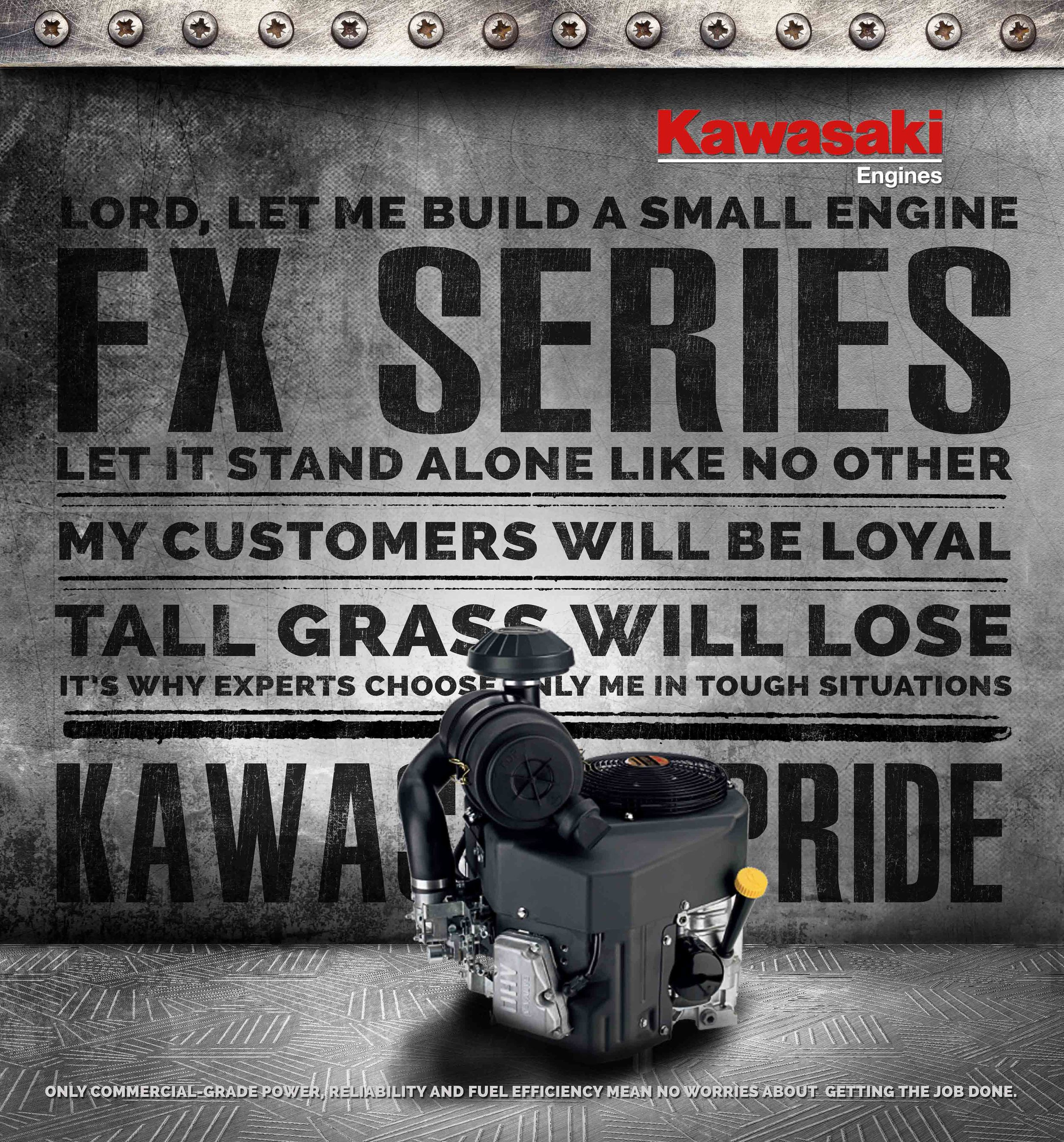 Kawasaki Small Engine Dealer Posters