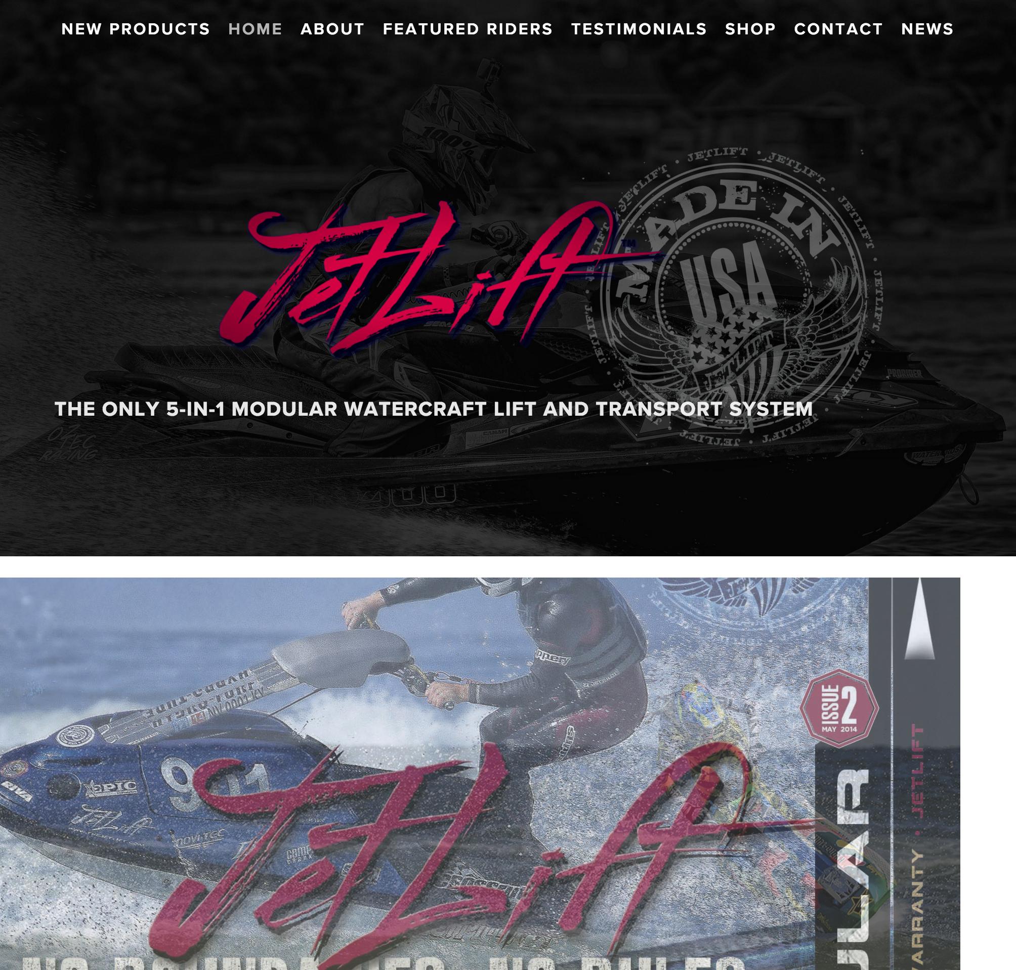 JetLift Website