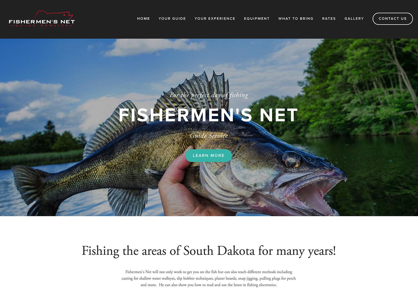 Fishermen's Net Website