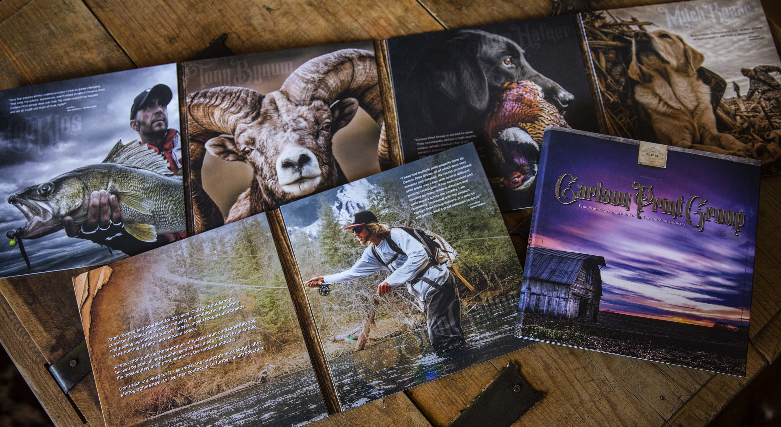 Carlson Print Group Outdoor Brochure
