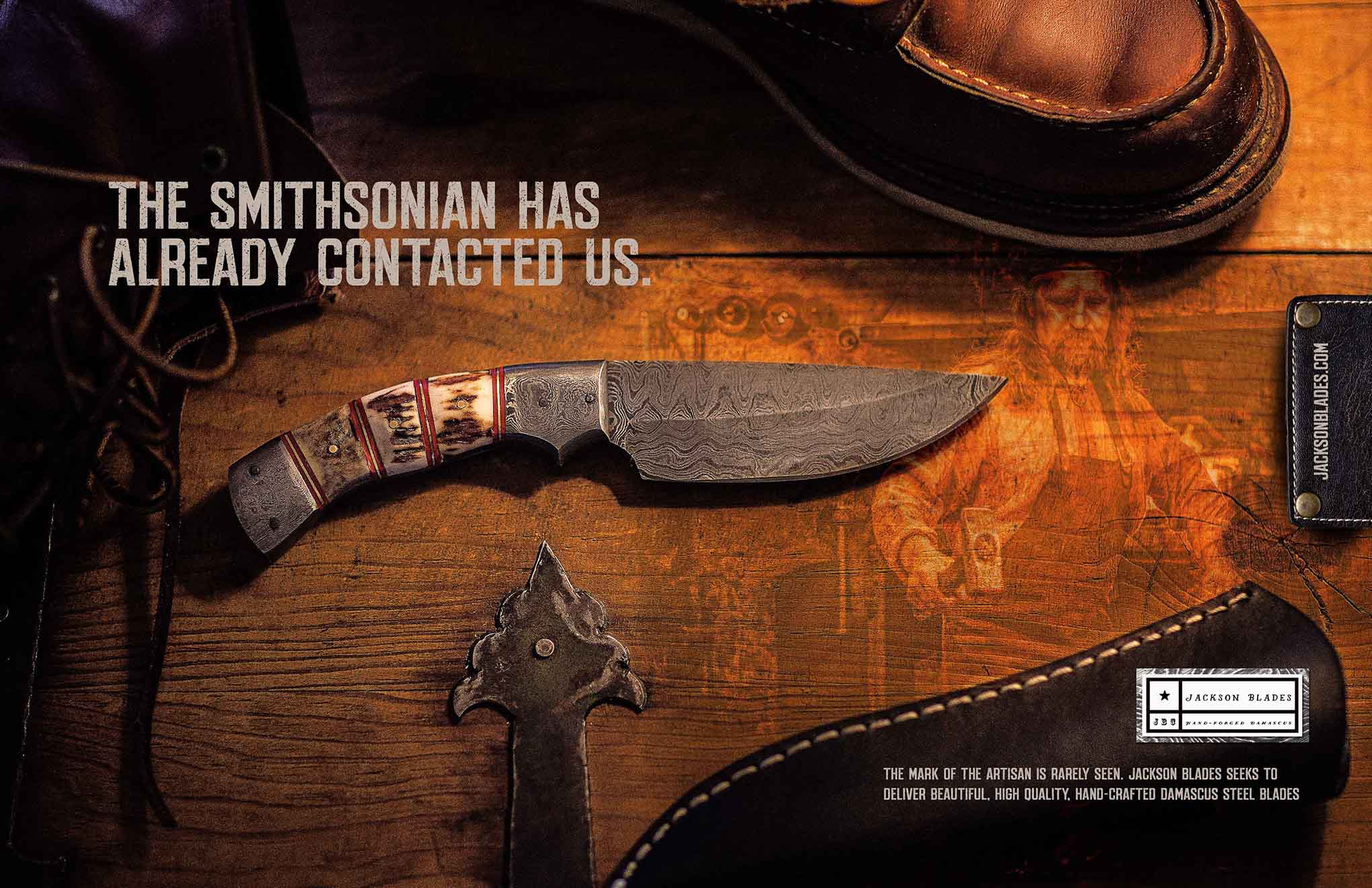 Trade ad for Jackson Knifes
