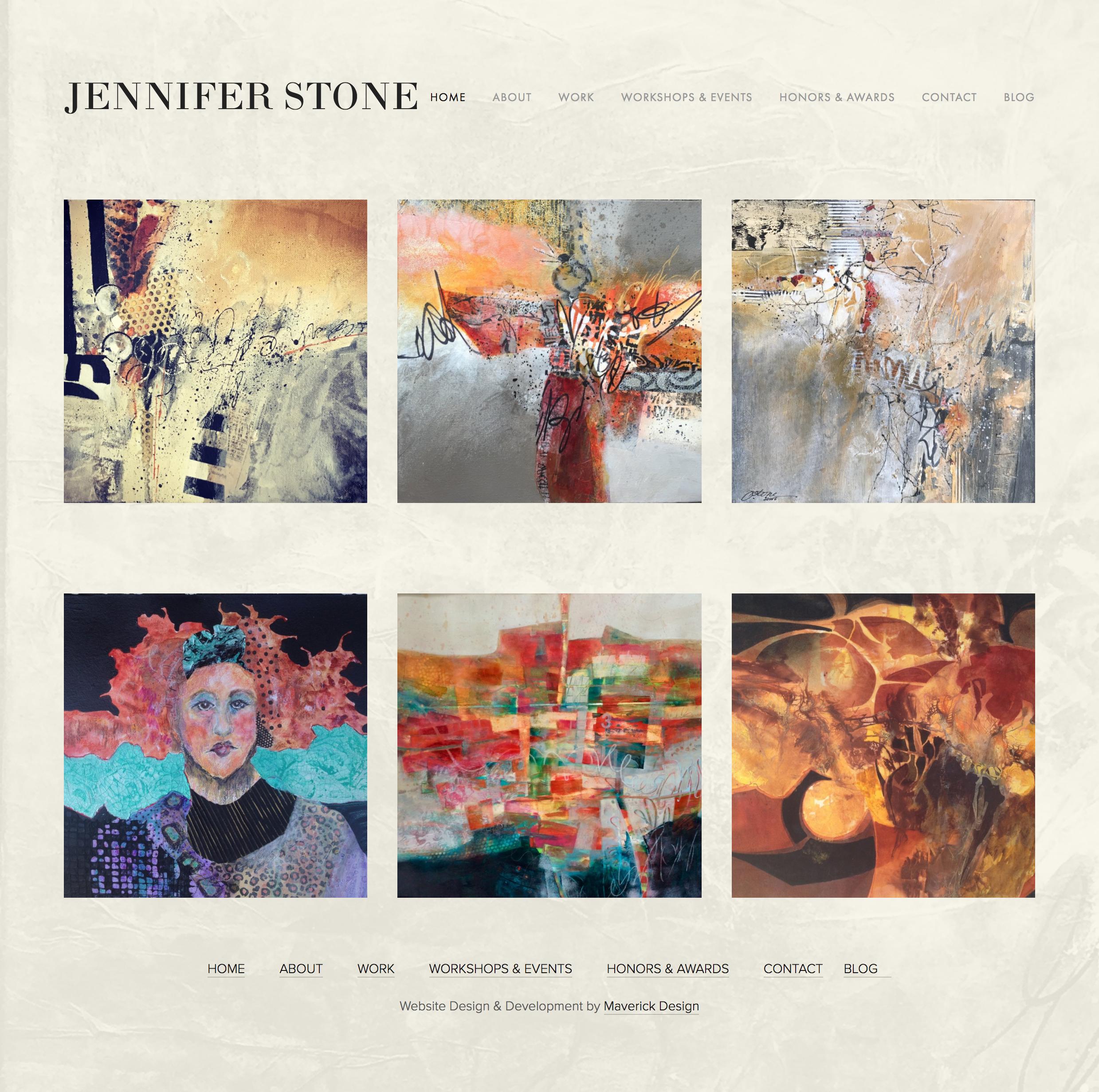 Jennifer Stone Website