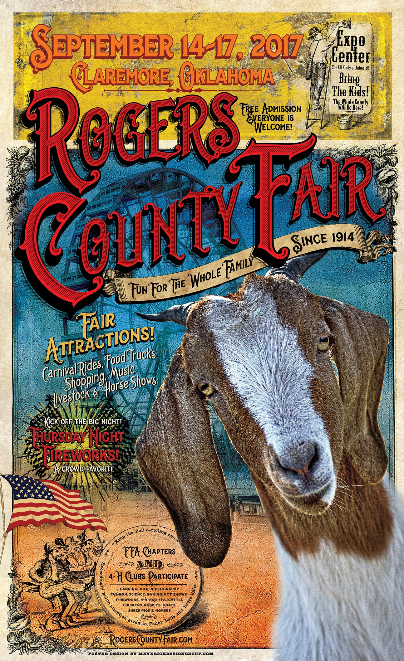 2017 Roger's County Fair Poster