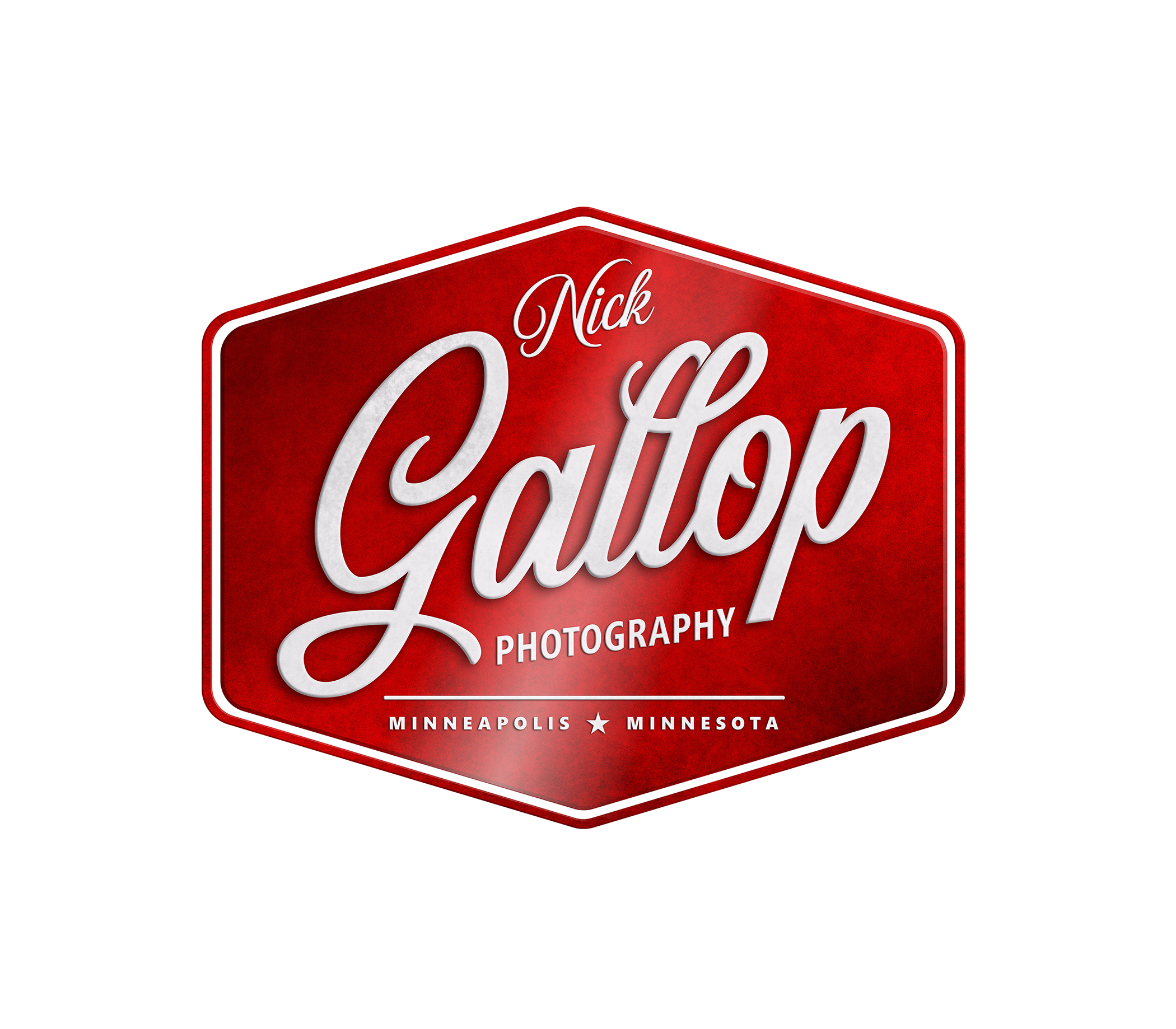 Maverick Design designs Logo for Nick Gallop Photography in Minneapolis, Minnesota
