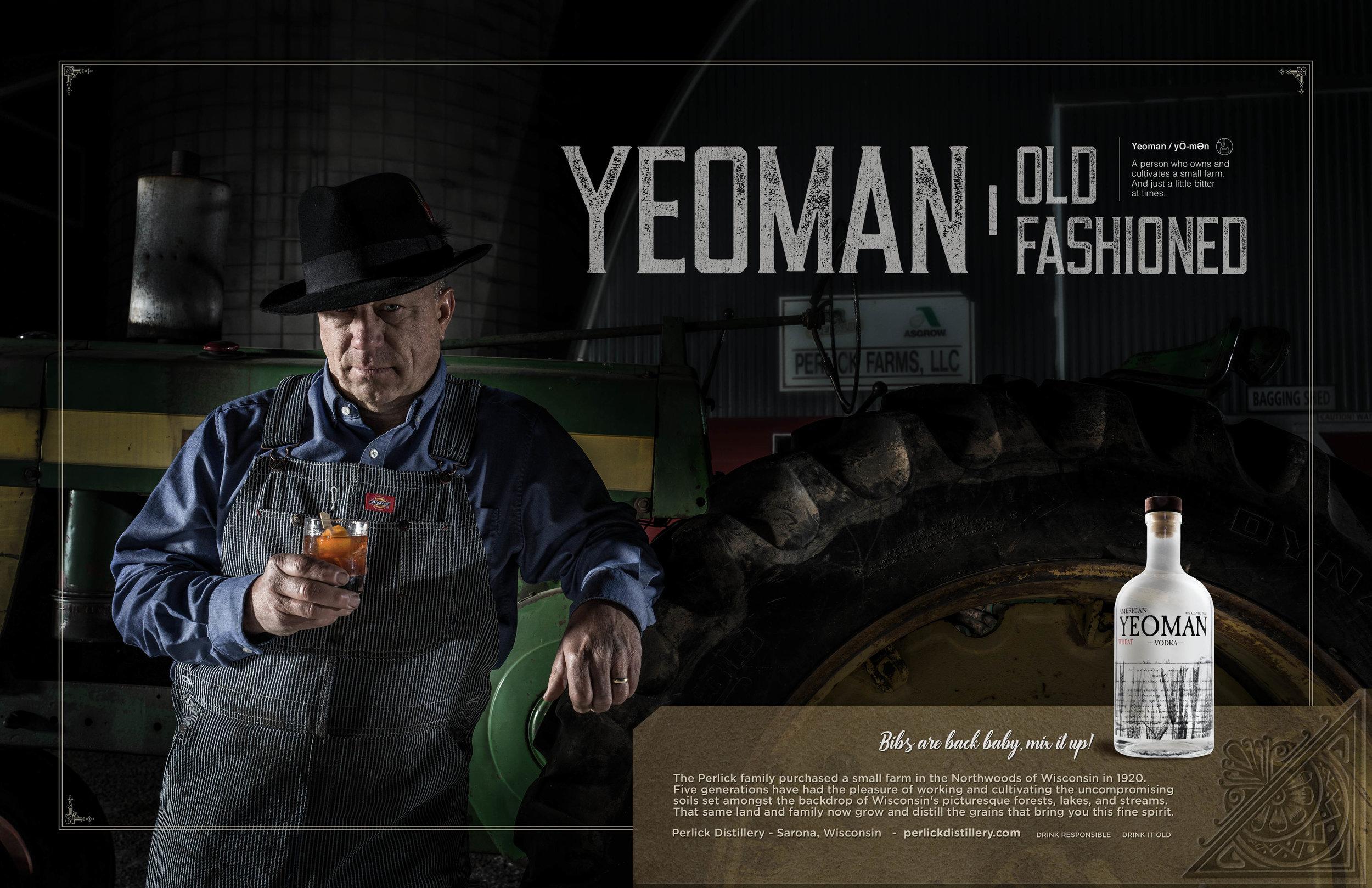 Yoeman Vodka Print Ads
