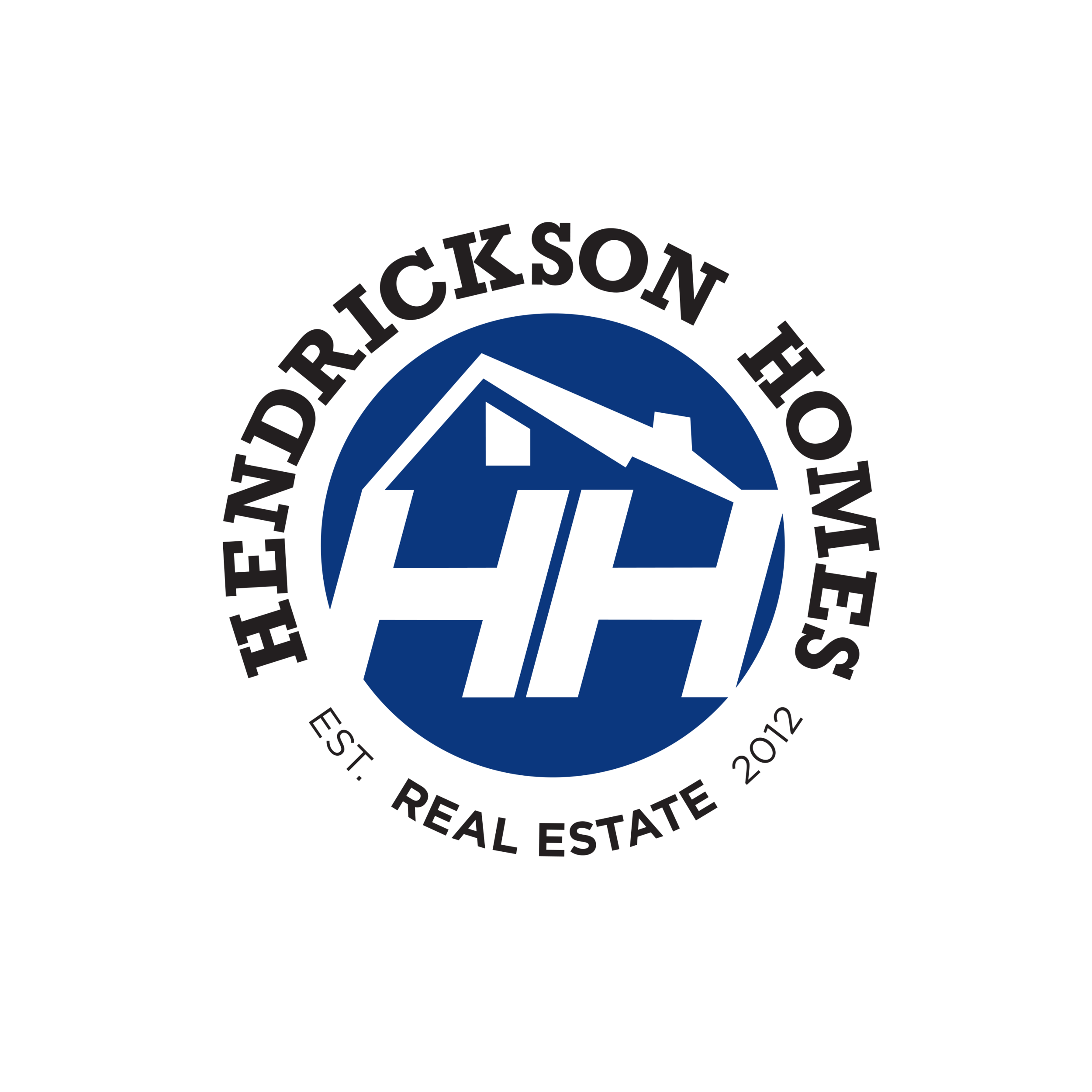 Hendrickson Homes Real Estate Logo
