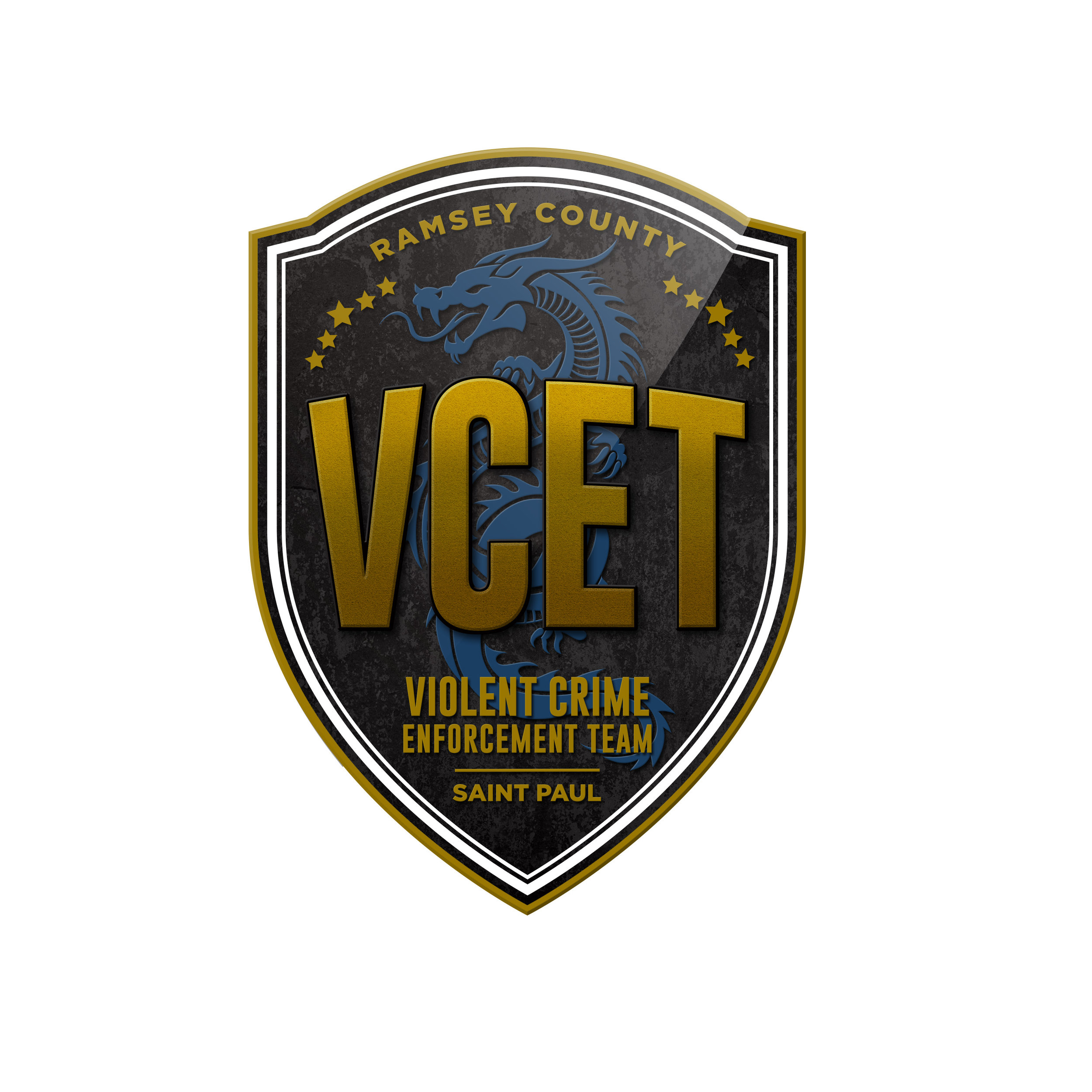 VCET logo design from Maverick Design - Violent Crime Enforcement Team