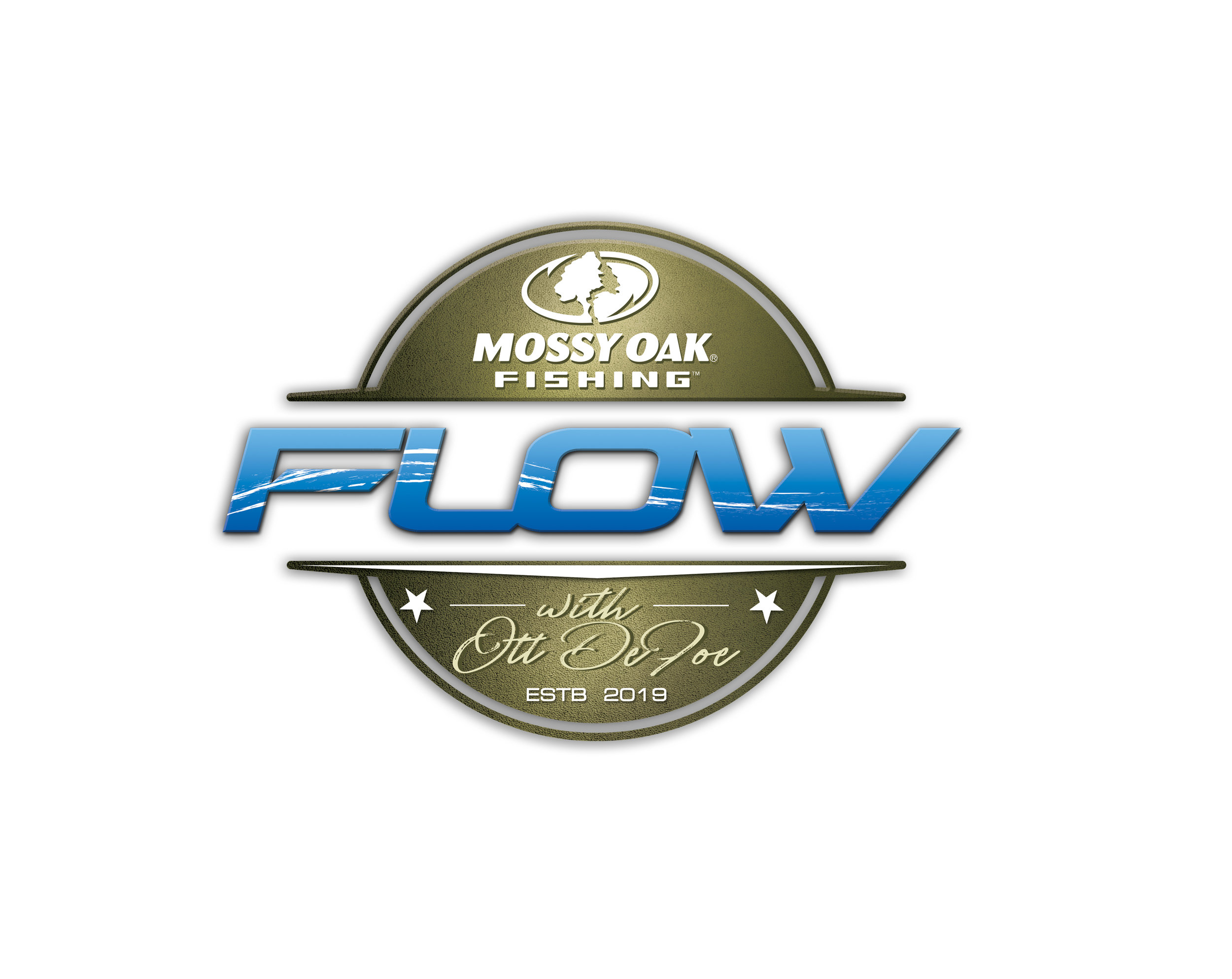 Logo design for Mossy Oak Fishing