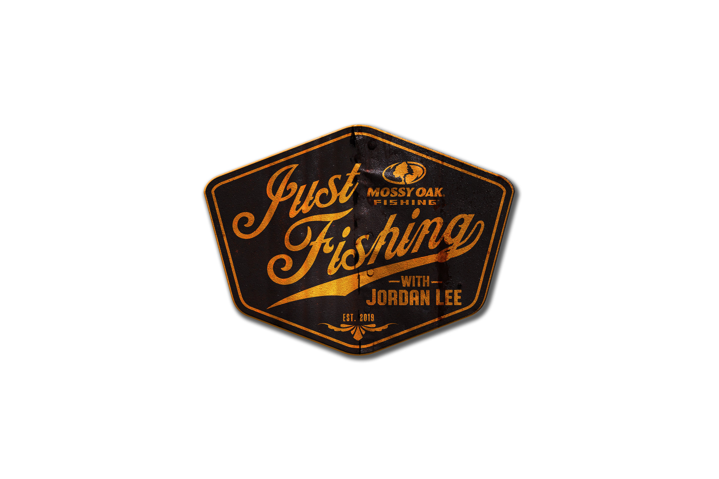 Logo design for Mossy Oak Fishing with Jordan Lee